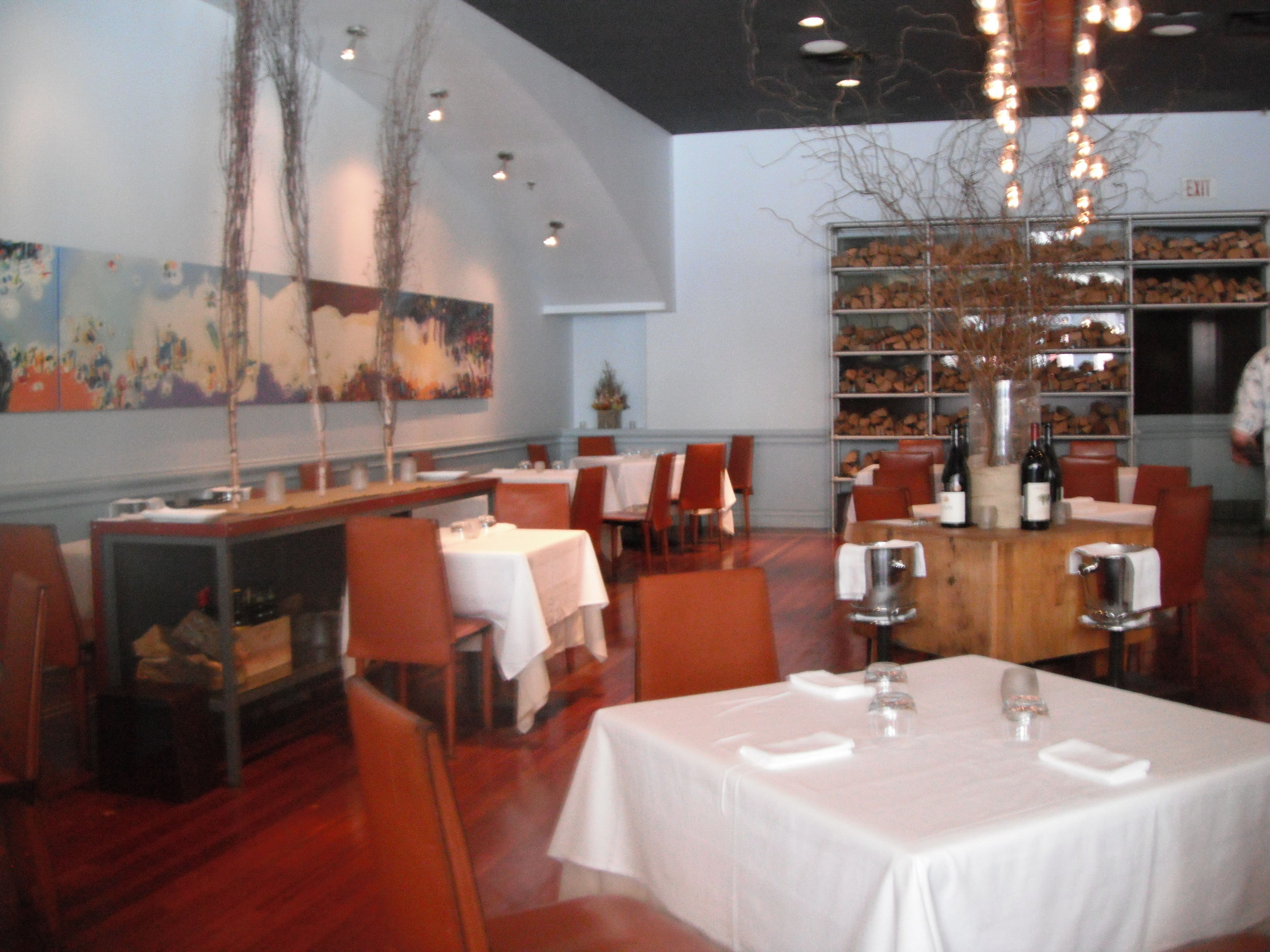 Picture of accessible dining area.