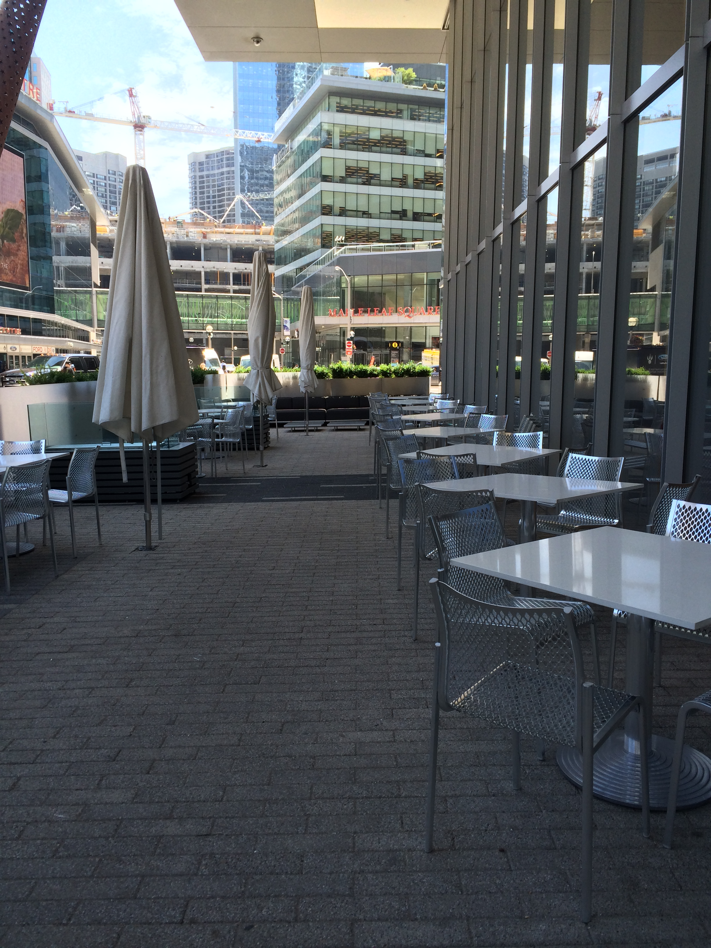 Picture of accessible patio
