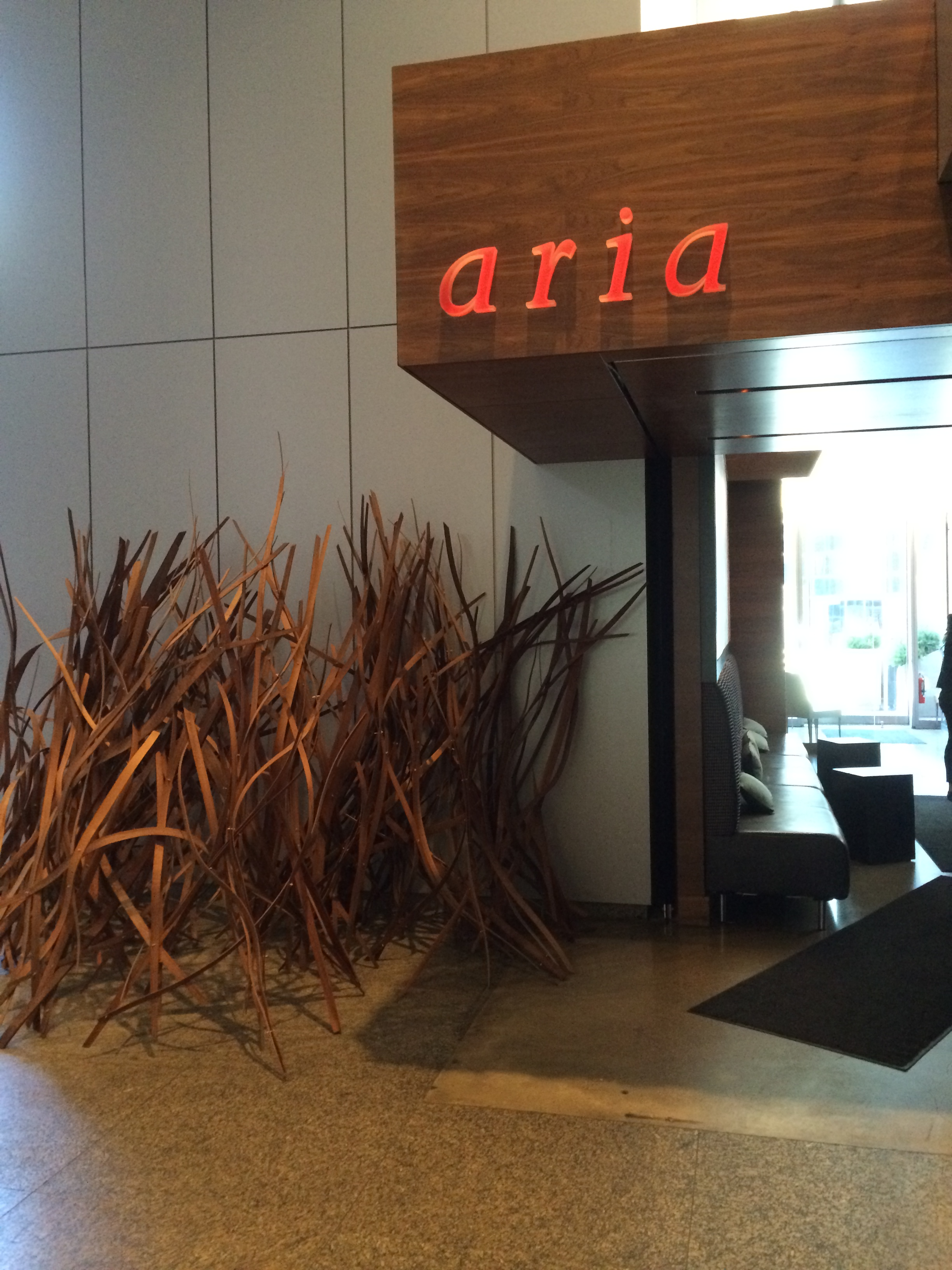 Picture of accessible entrance of Aria