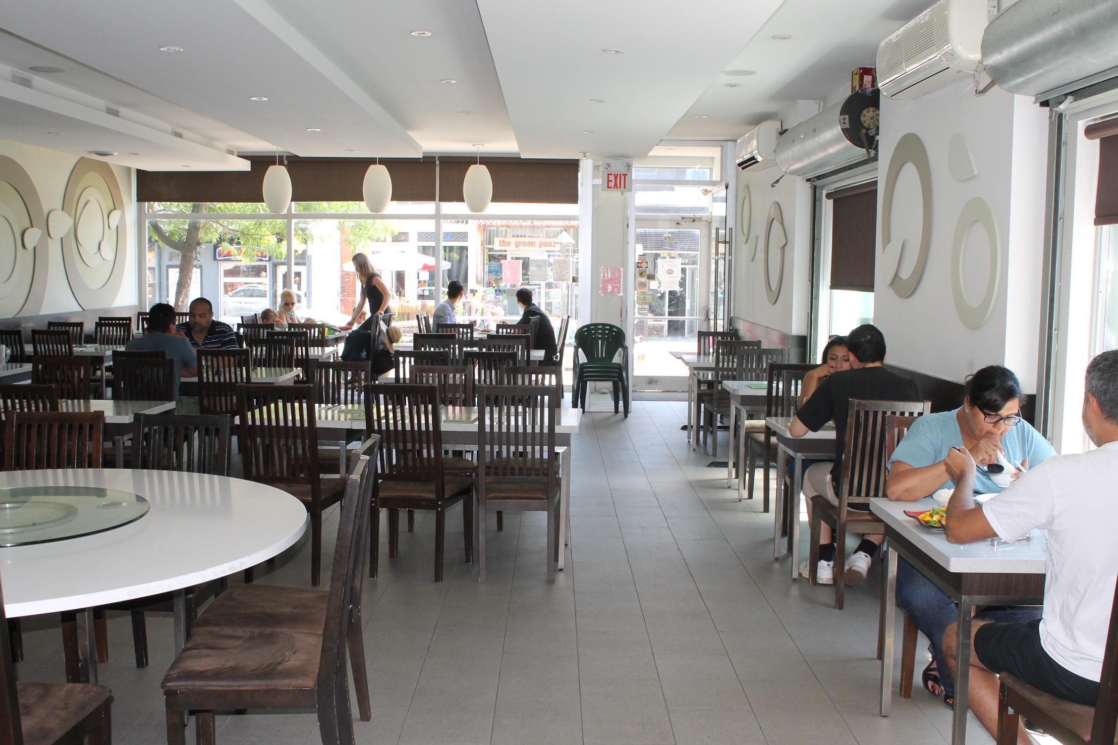 Picture of spacious interior.