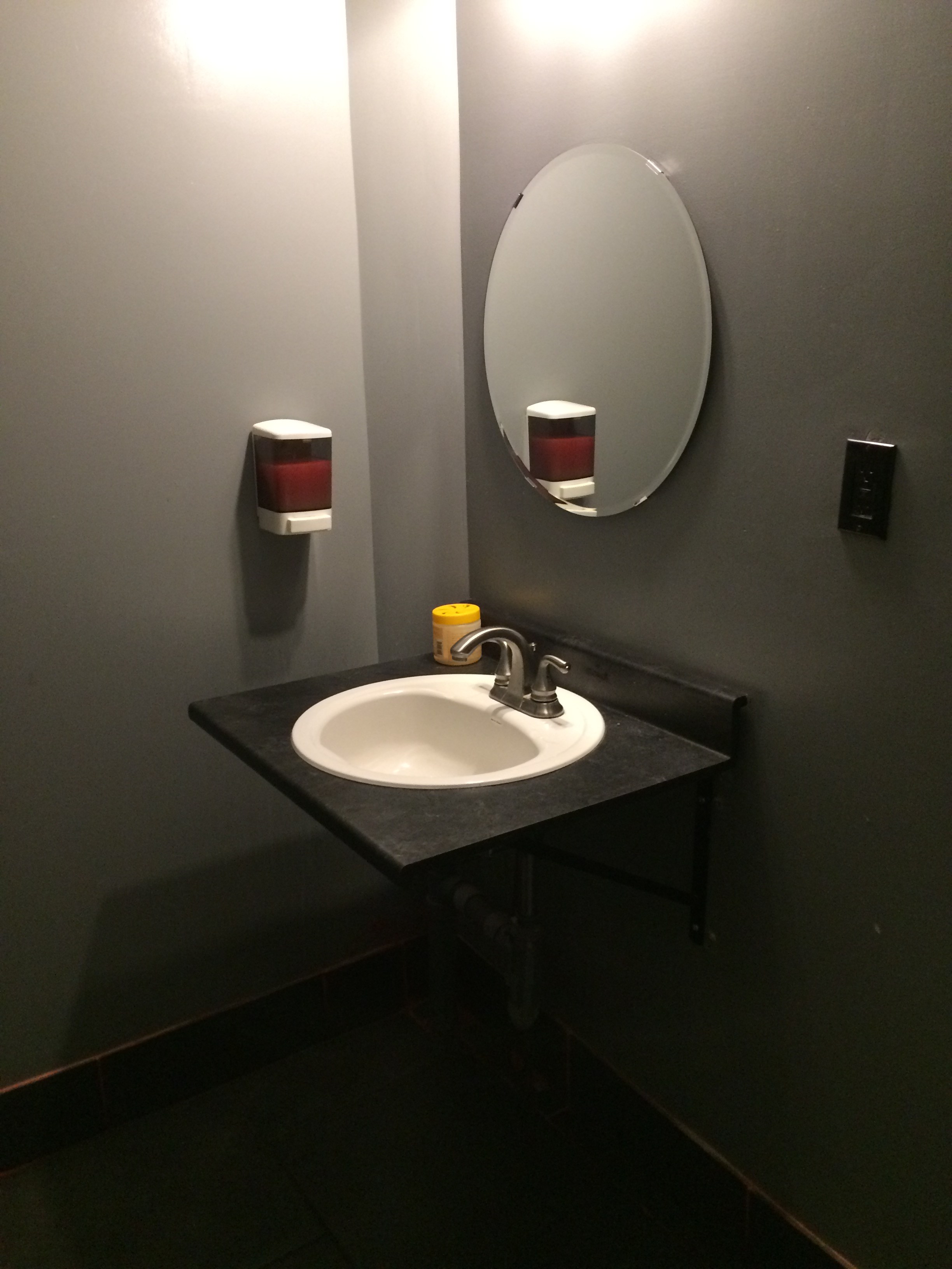 Accessible bathroom at grillies.