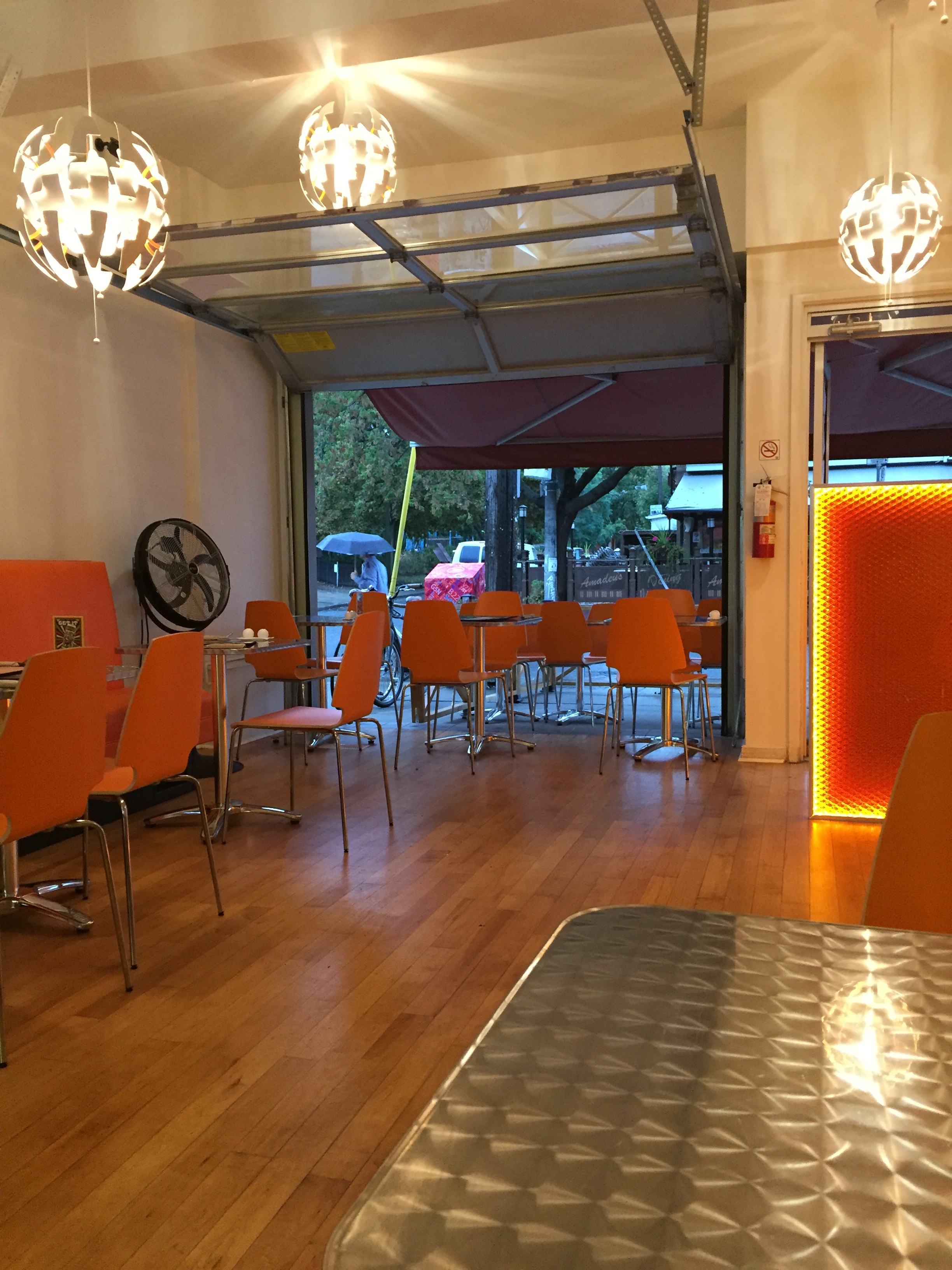 Picture of accessible interior for Cosmic Treats.
