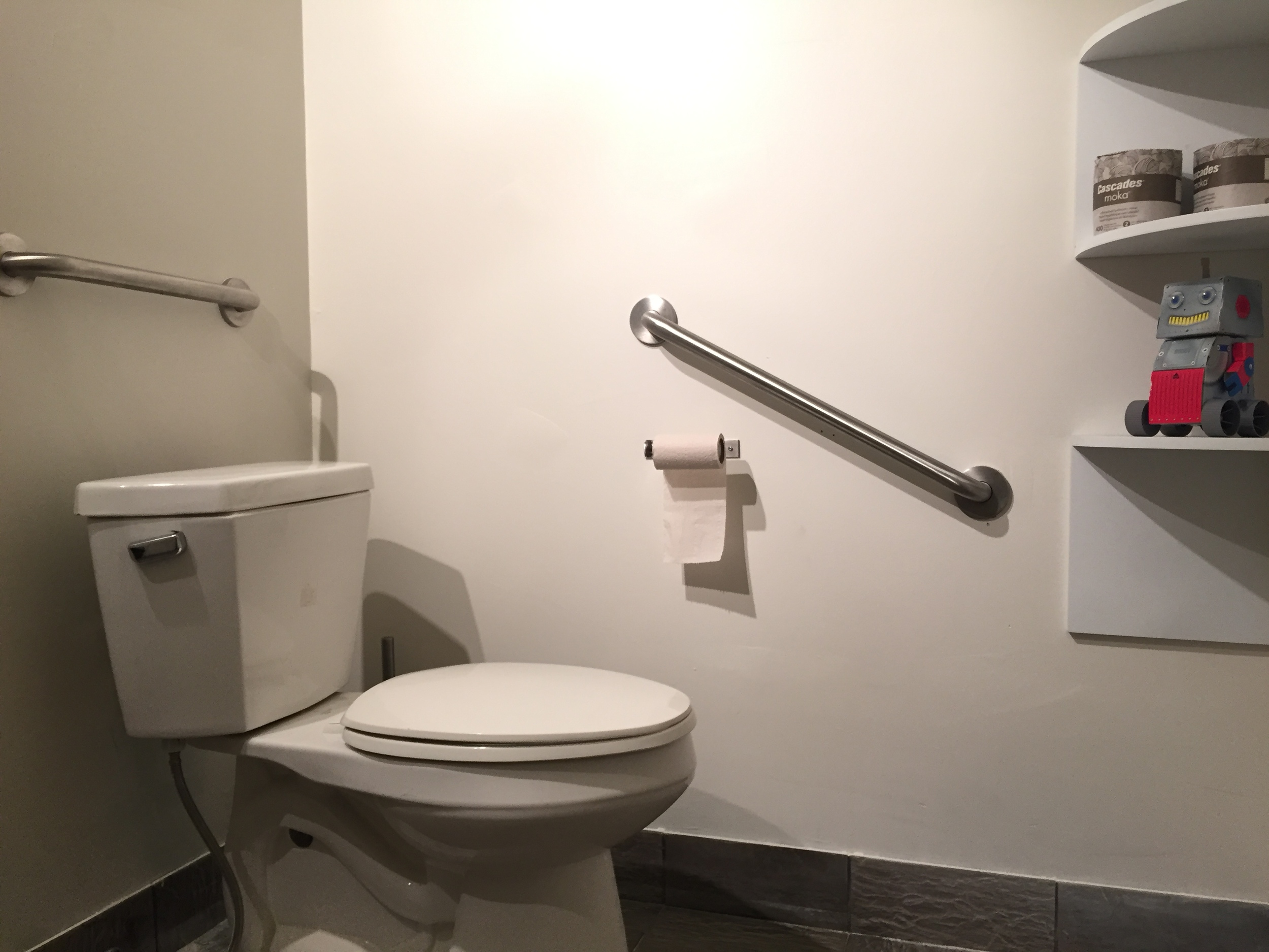 Picture of accessible washroom for Cosmic Treats.