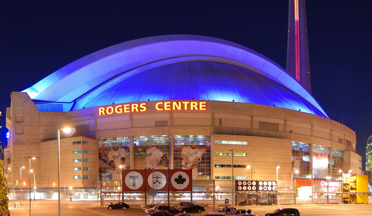 Picture of the exterior of the Roger's Centre