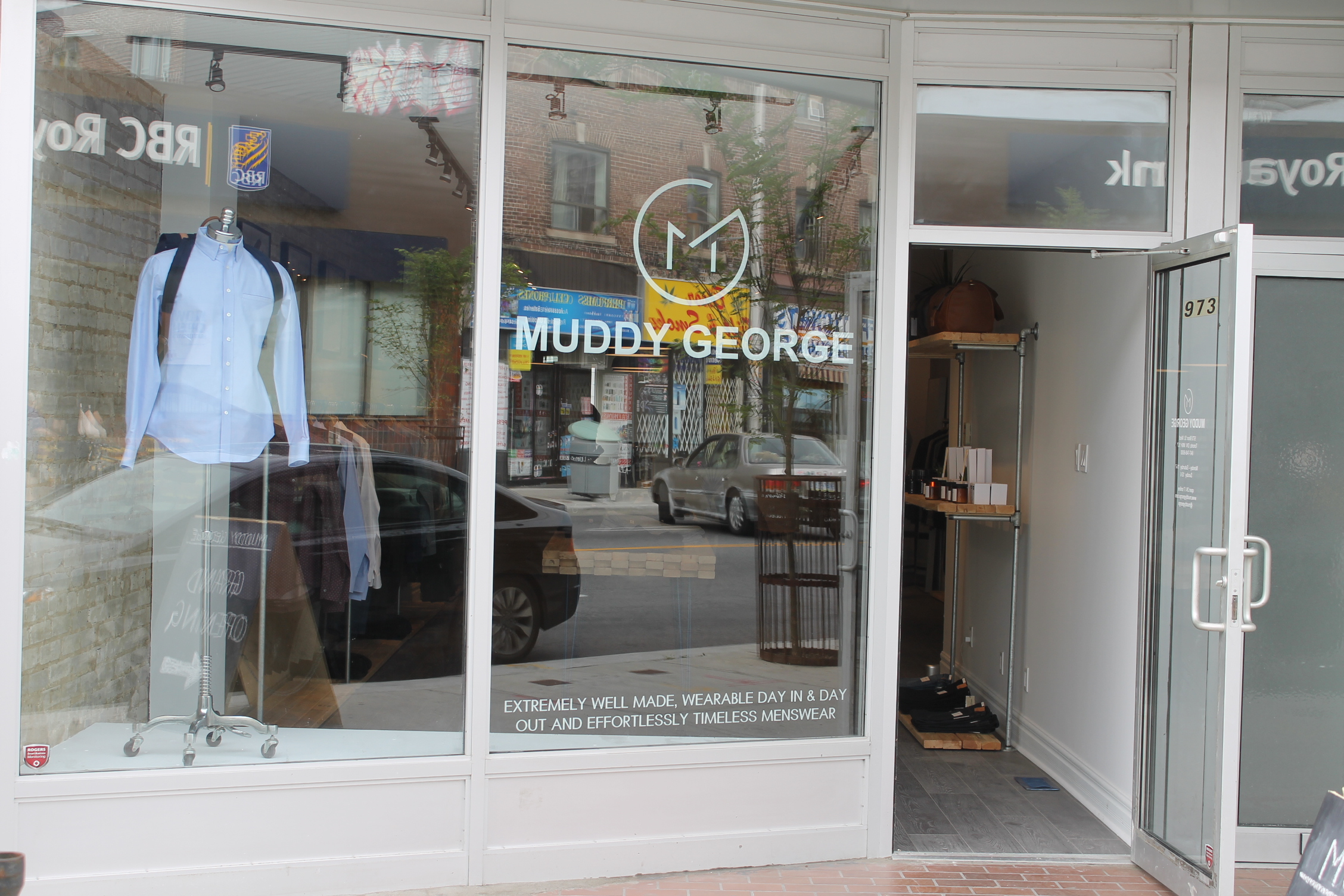 Accessible exterior photo of Muddy George.