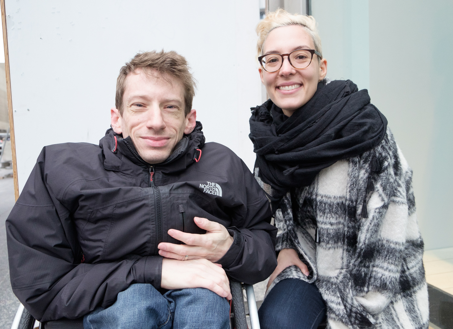 Picture of review team Silvia Guido and Julian Stein