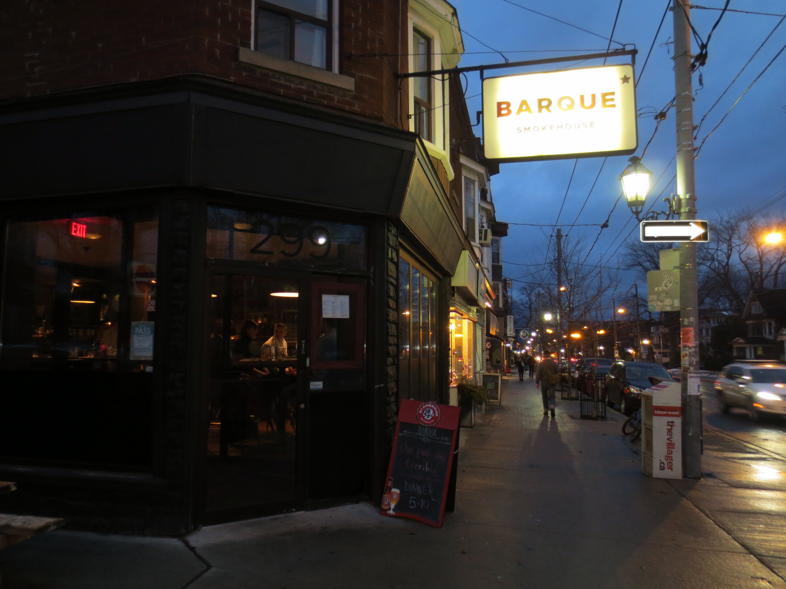 Picture of accessible entrance of Barque Smokehouse
