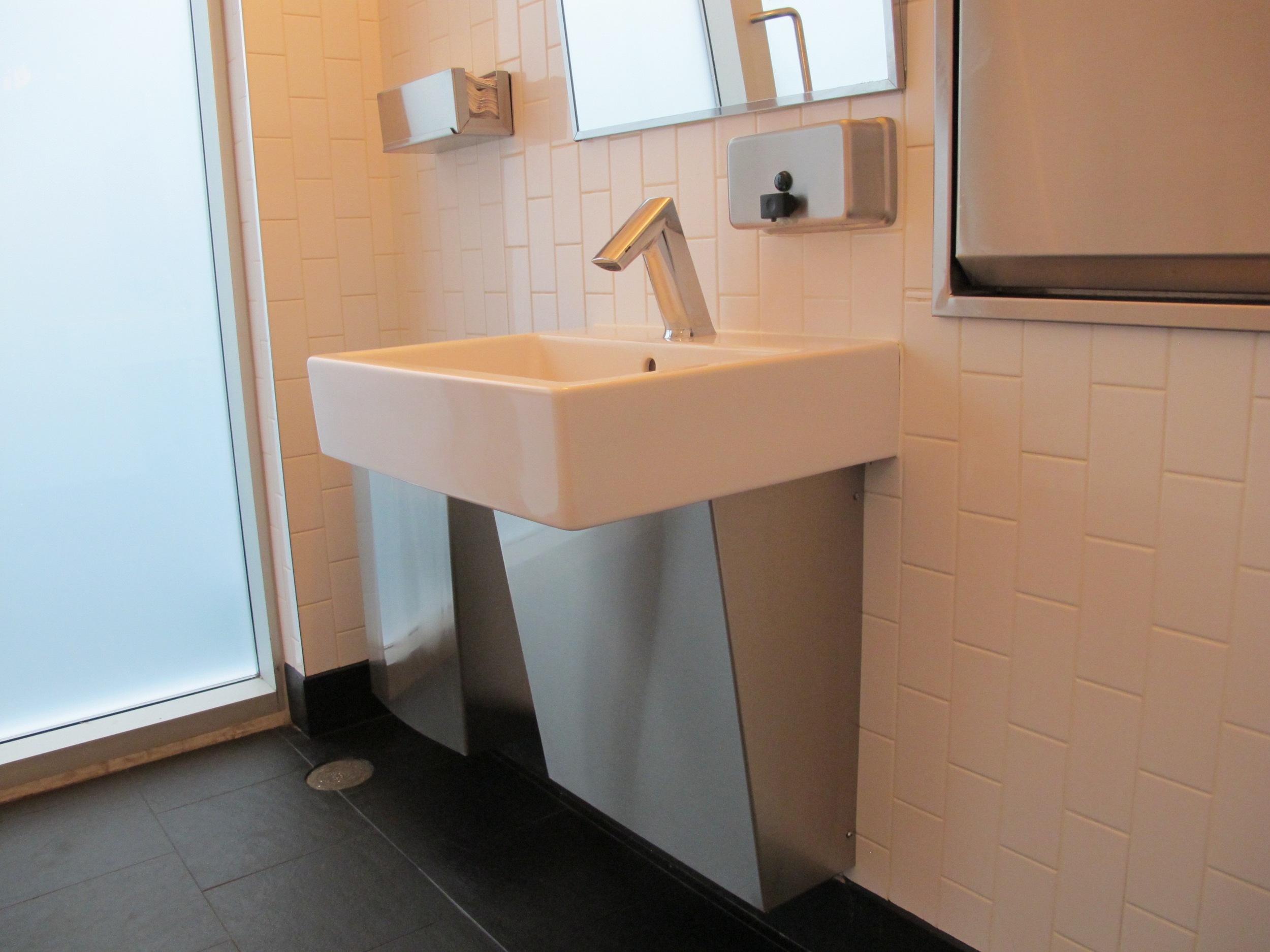 Picture of washroom sink