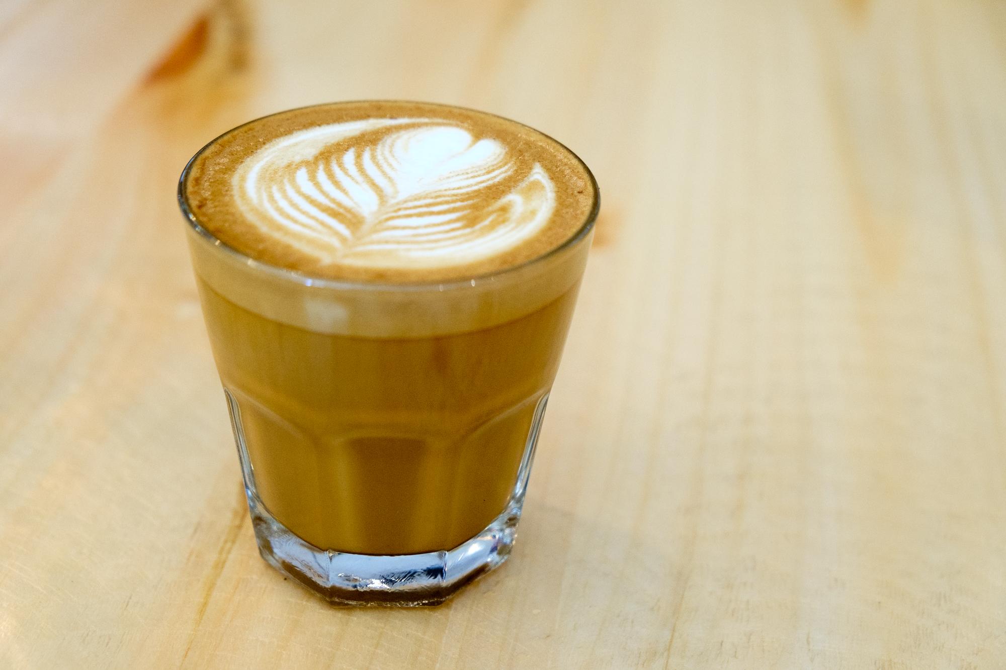 Picture of a Cortado coffee