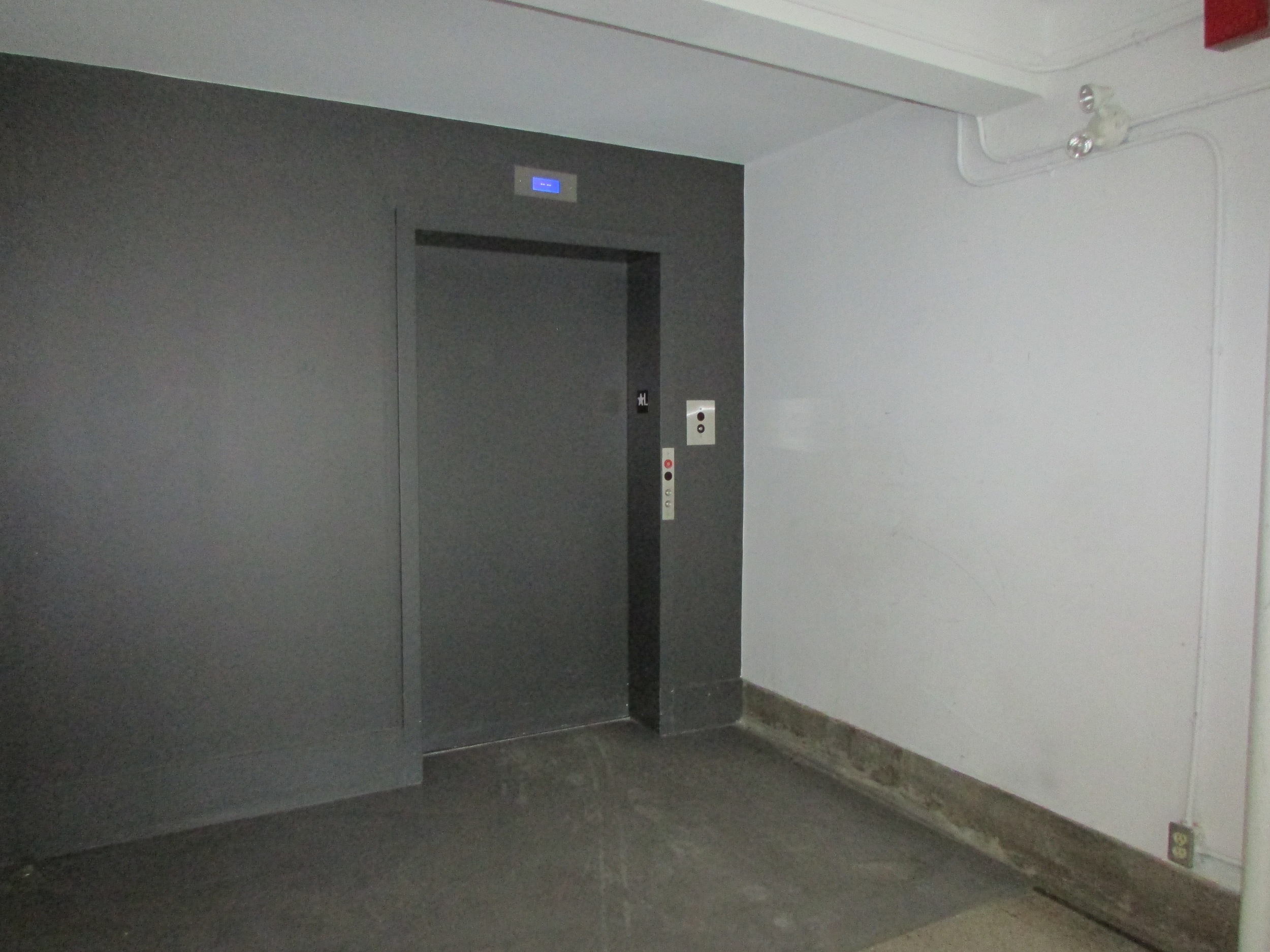 Picture of accessible elevator