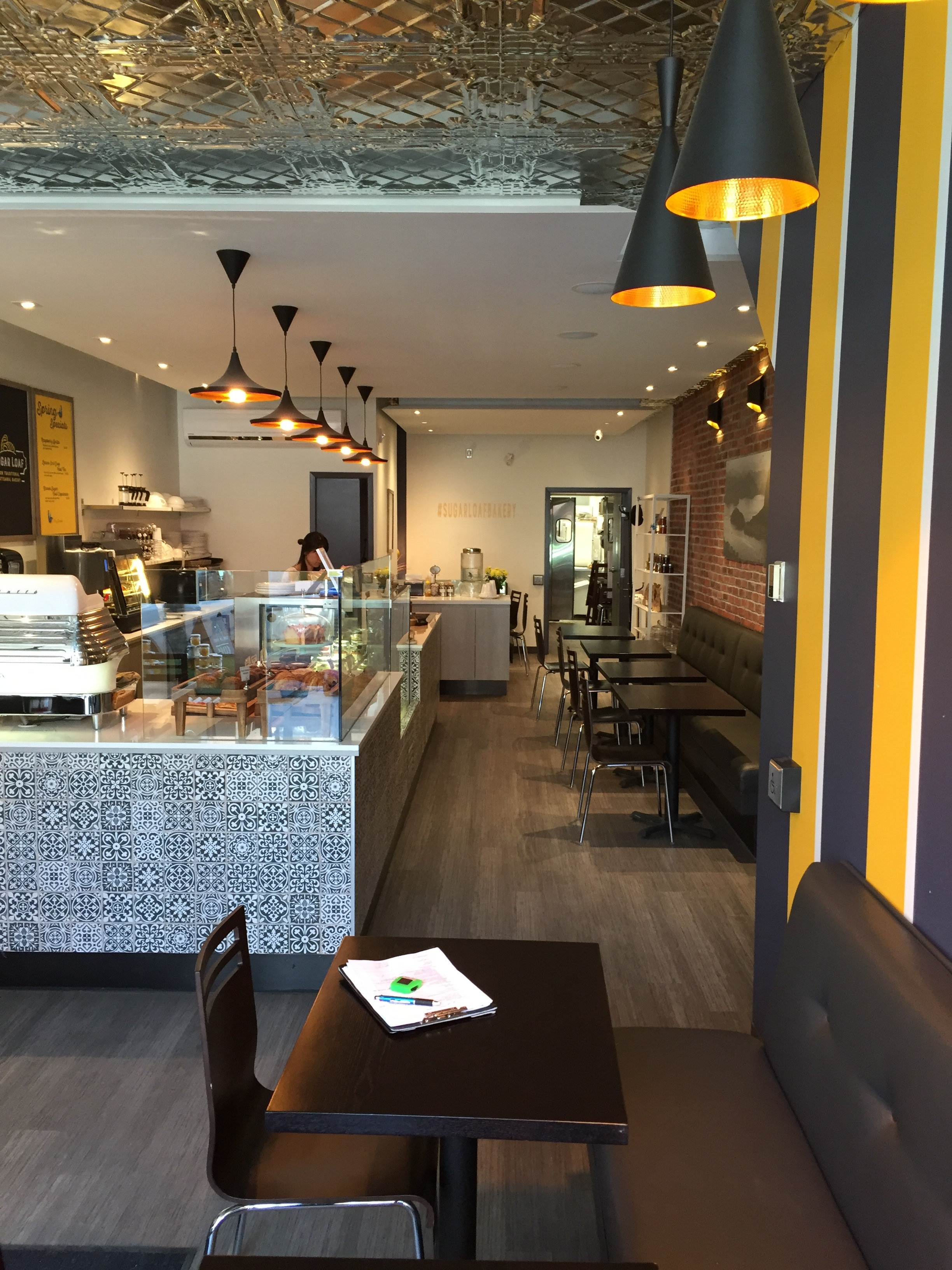 Picture of the accessible interior of bakery