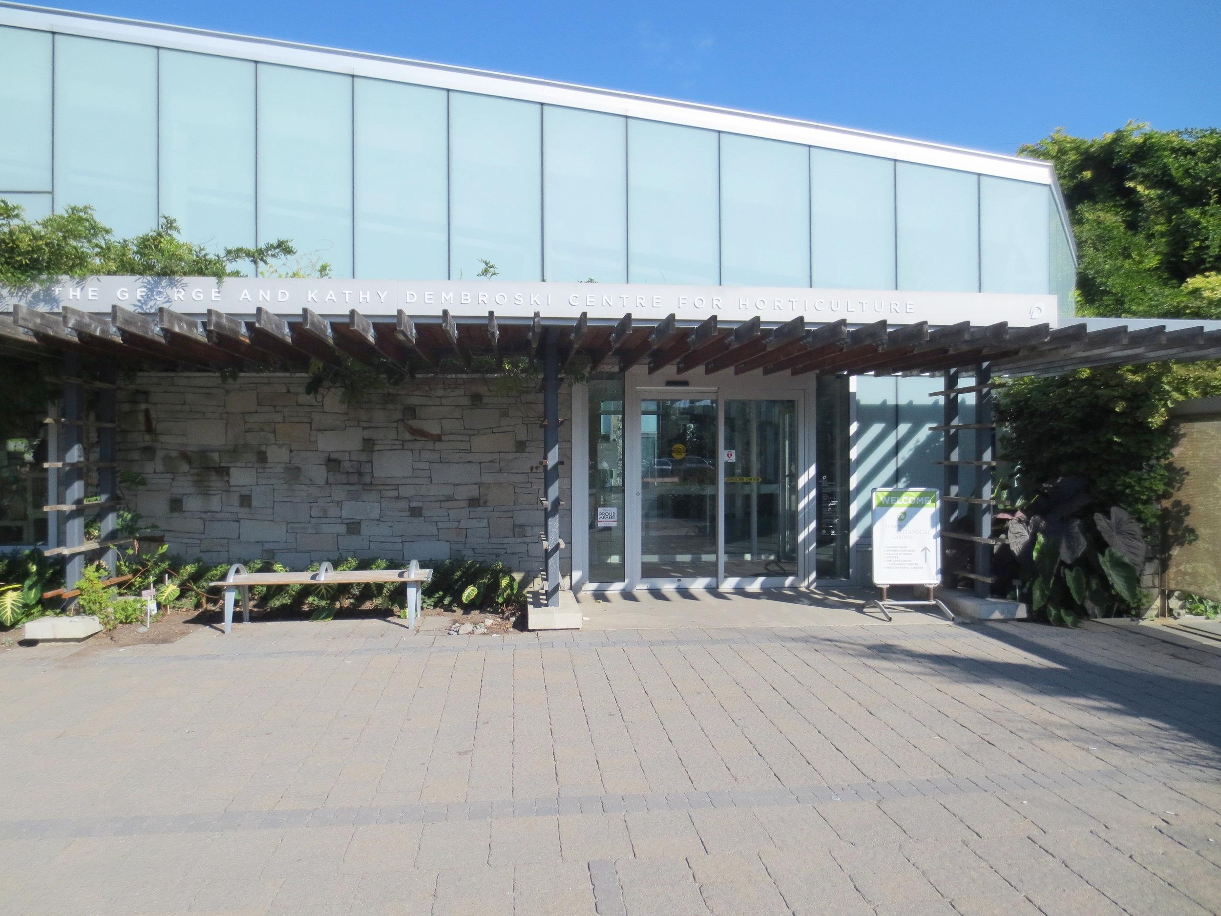 Horticulture Centre entrance