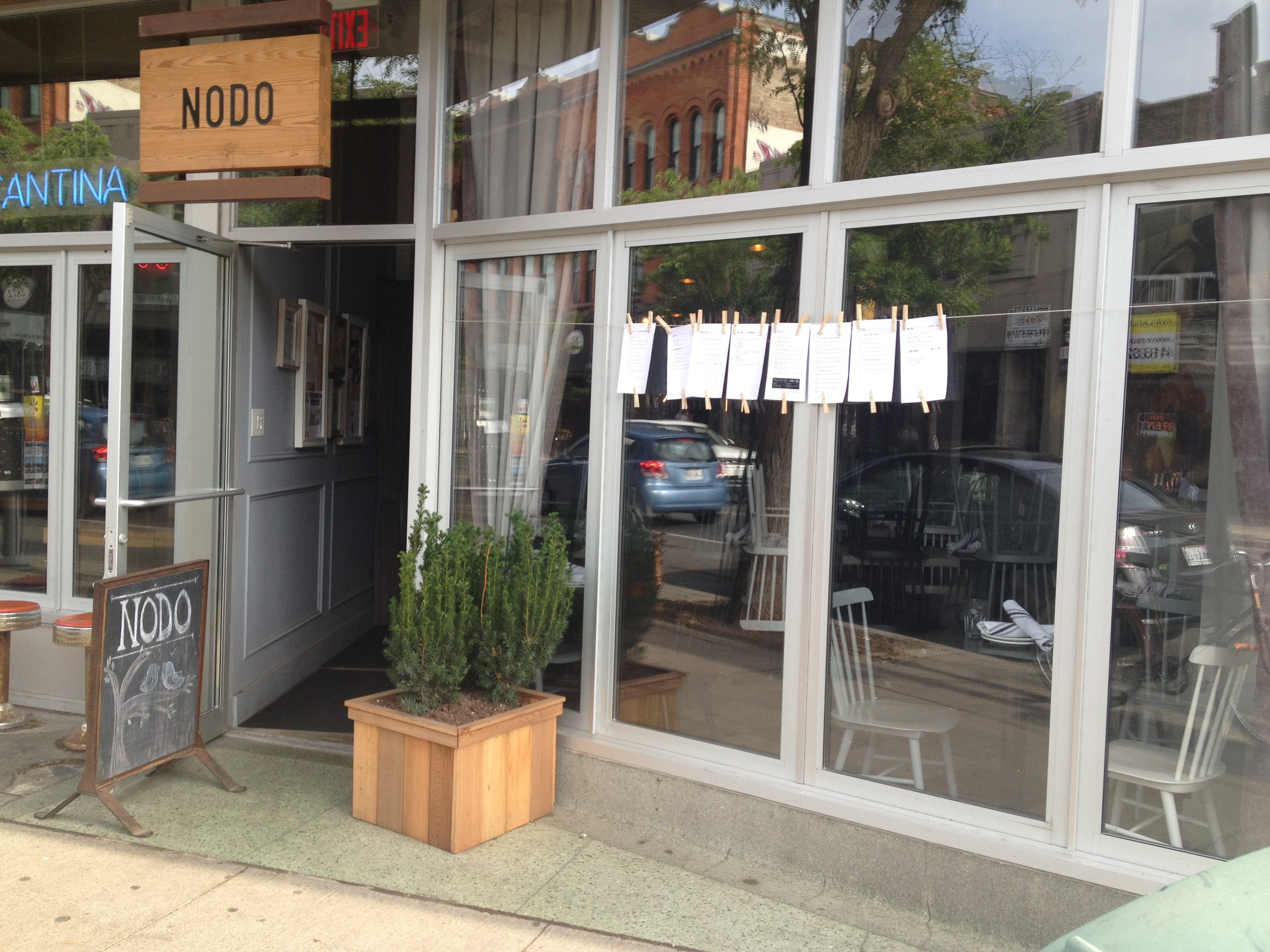 Nodo restaurant front