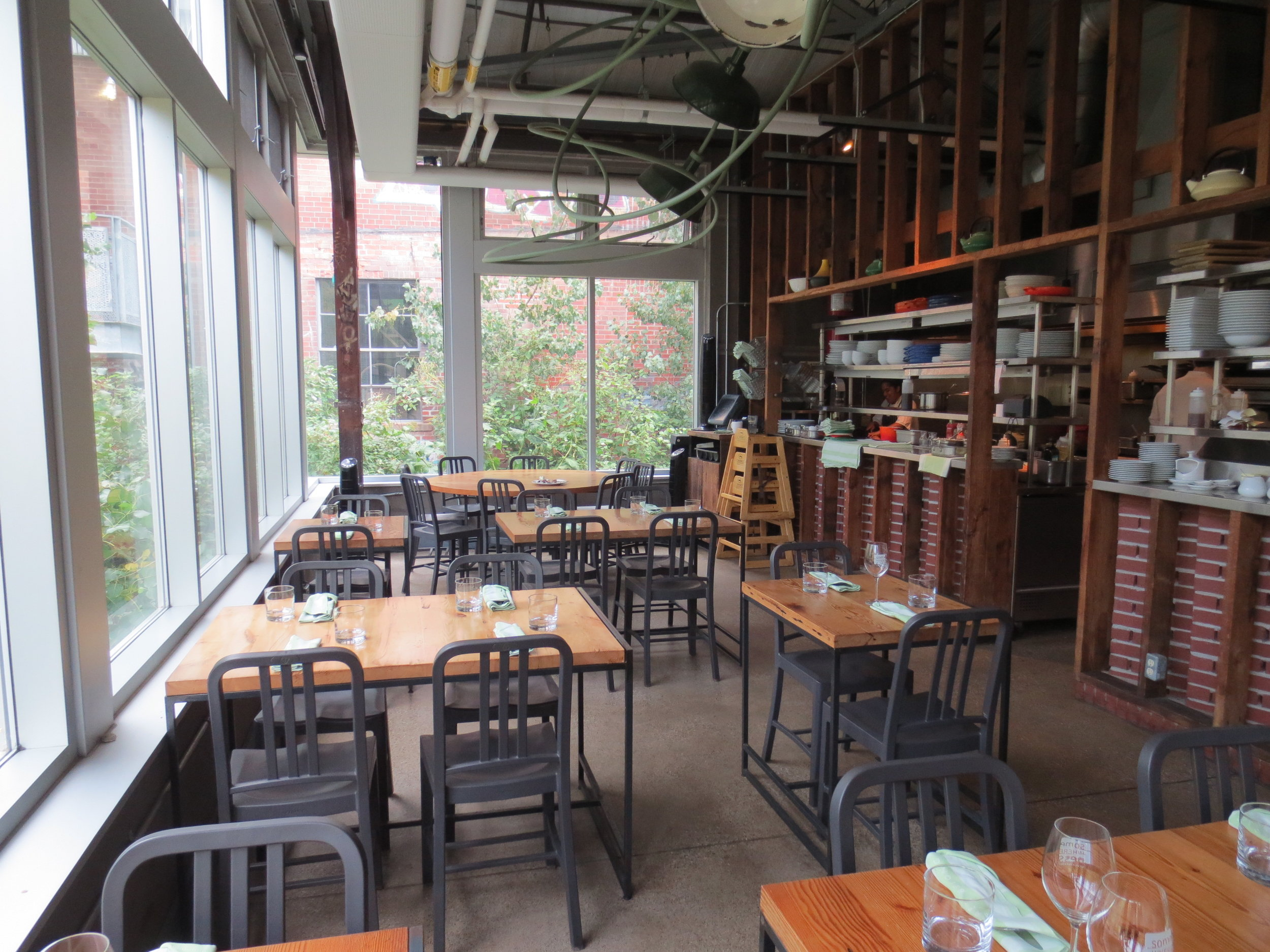 Picture of accessible interior of Café Belong