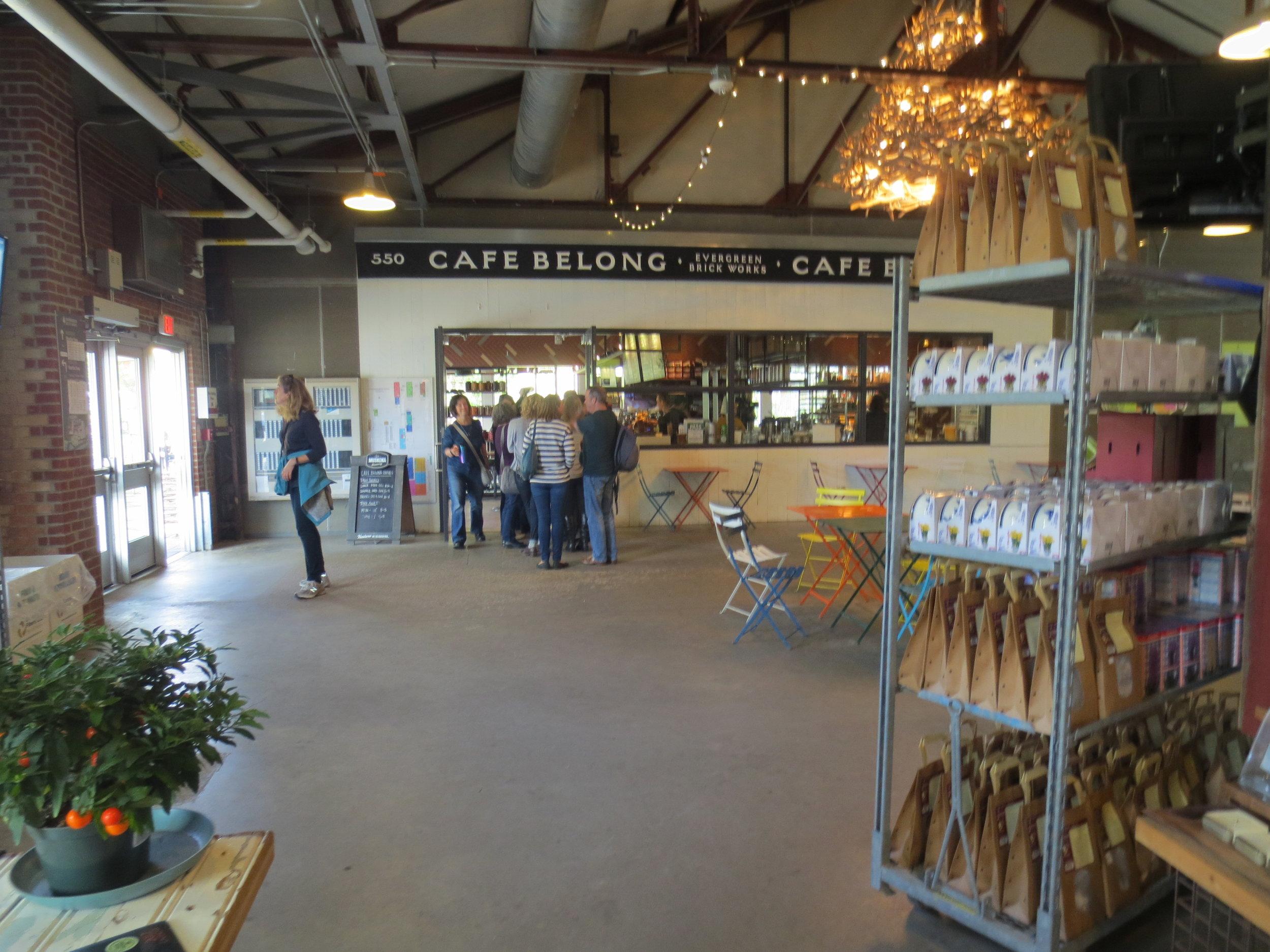 Picture of entrance of Café Belong