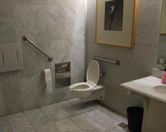 Single occupancy washroom