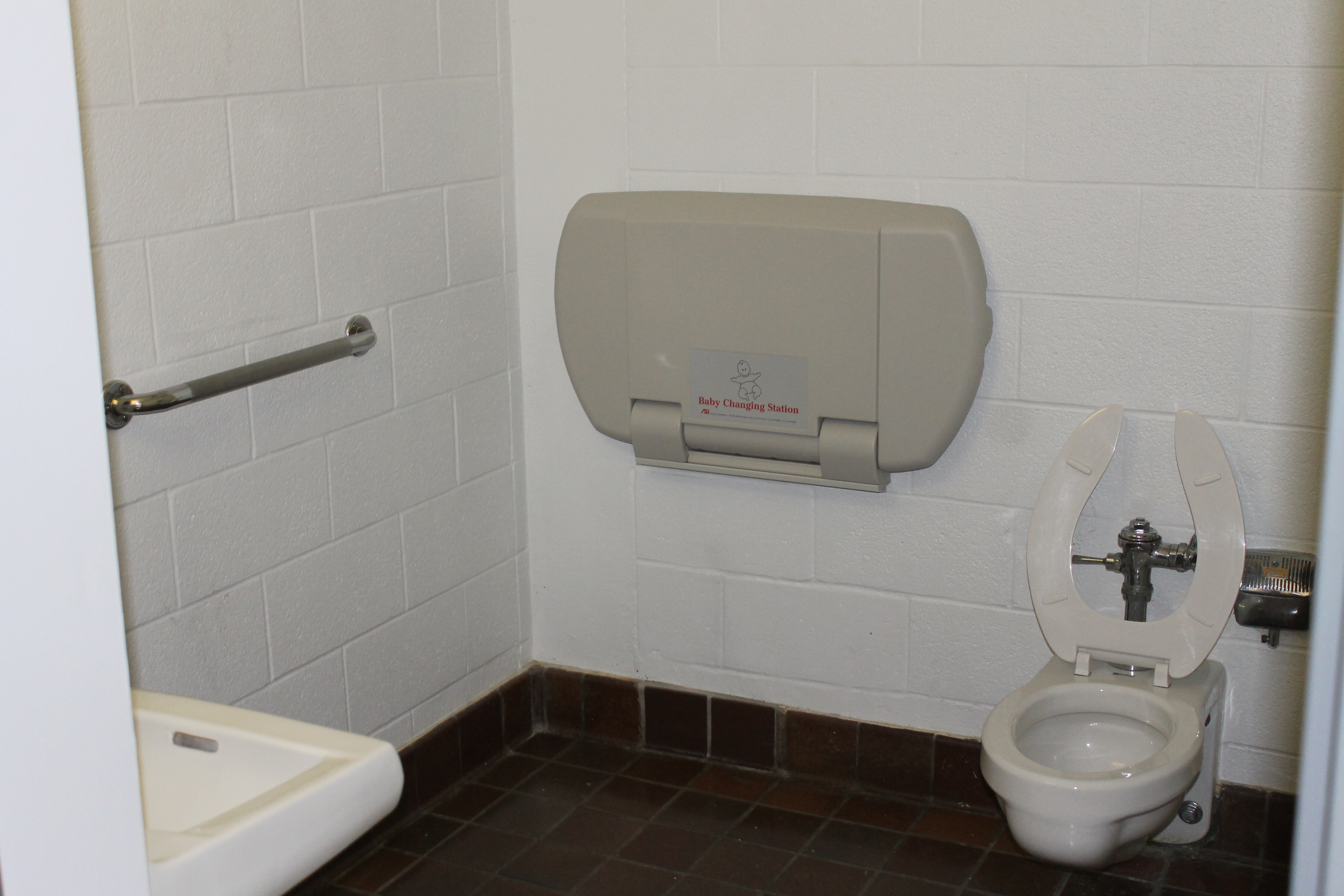 Picture of the accessible washroom