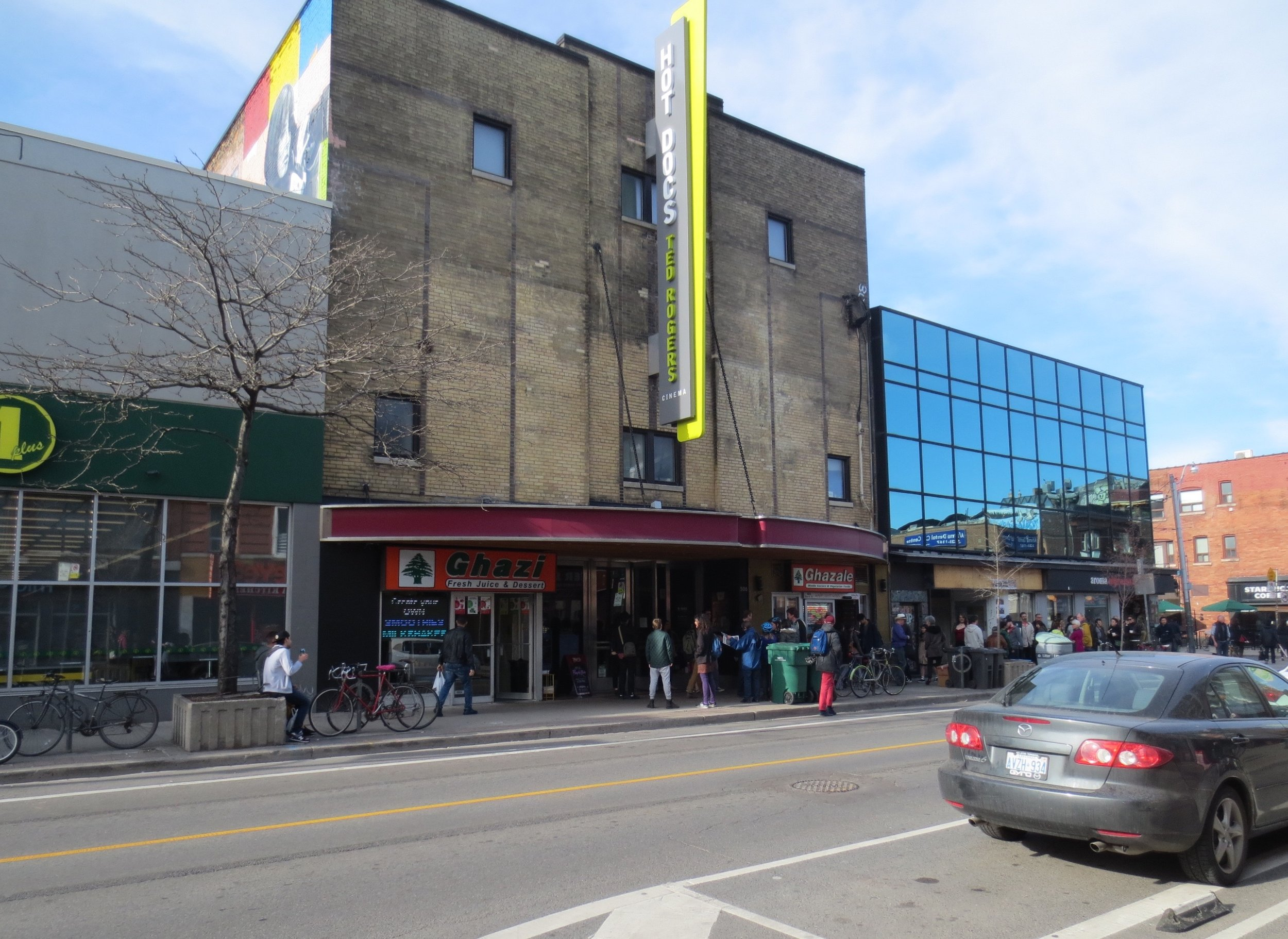 hot docs cinema exterior