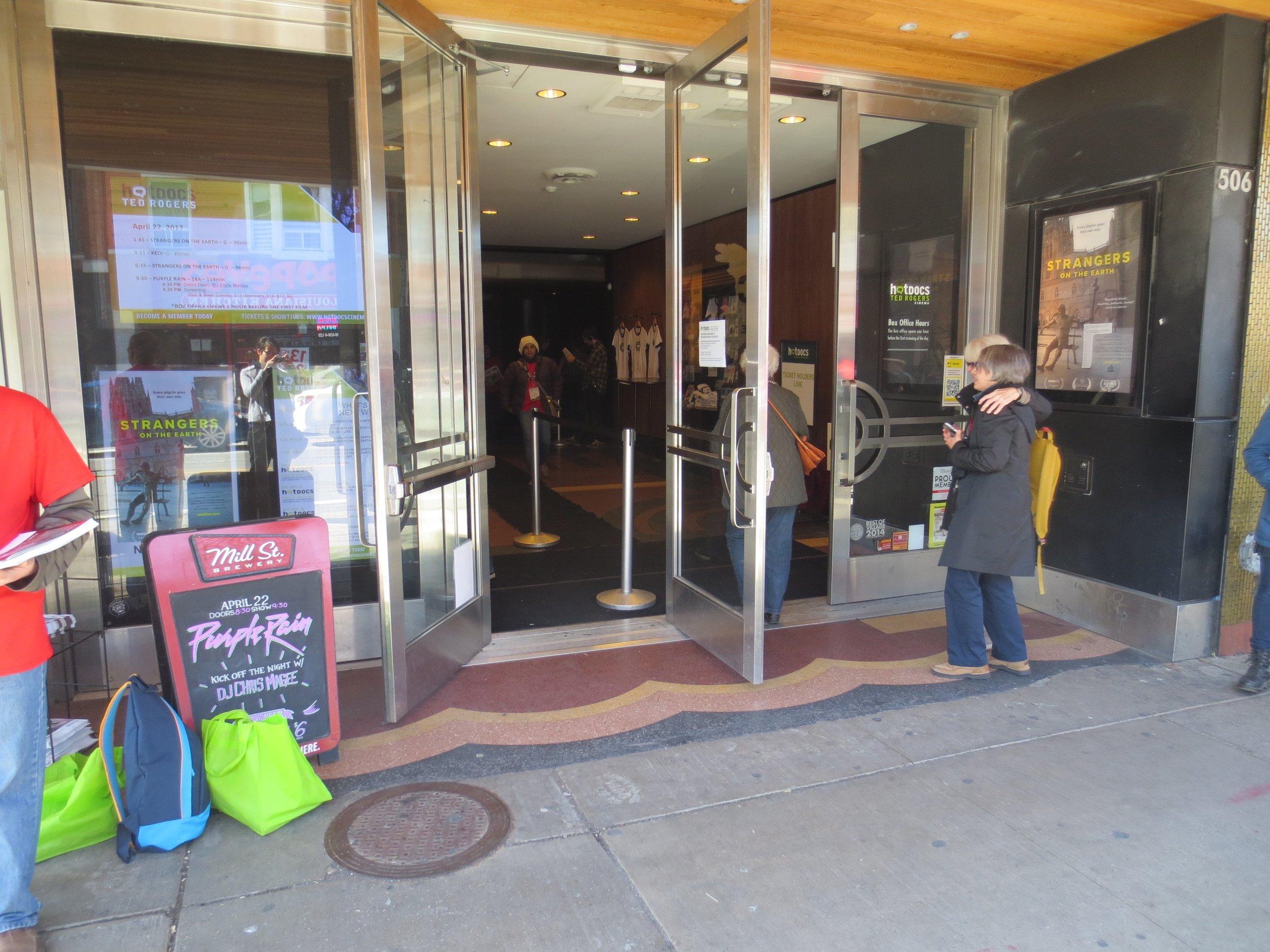 cinema main doors