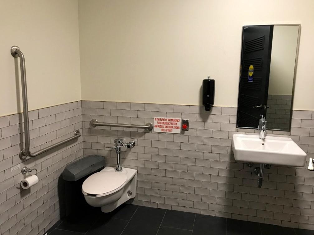Ricarda's single occupancy restroom