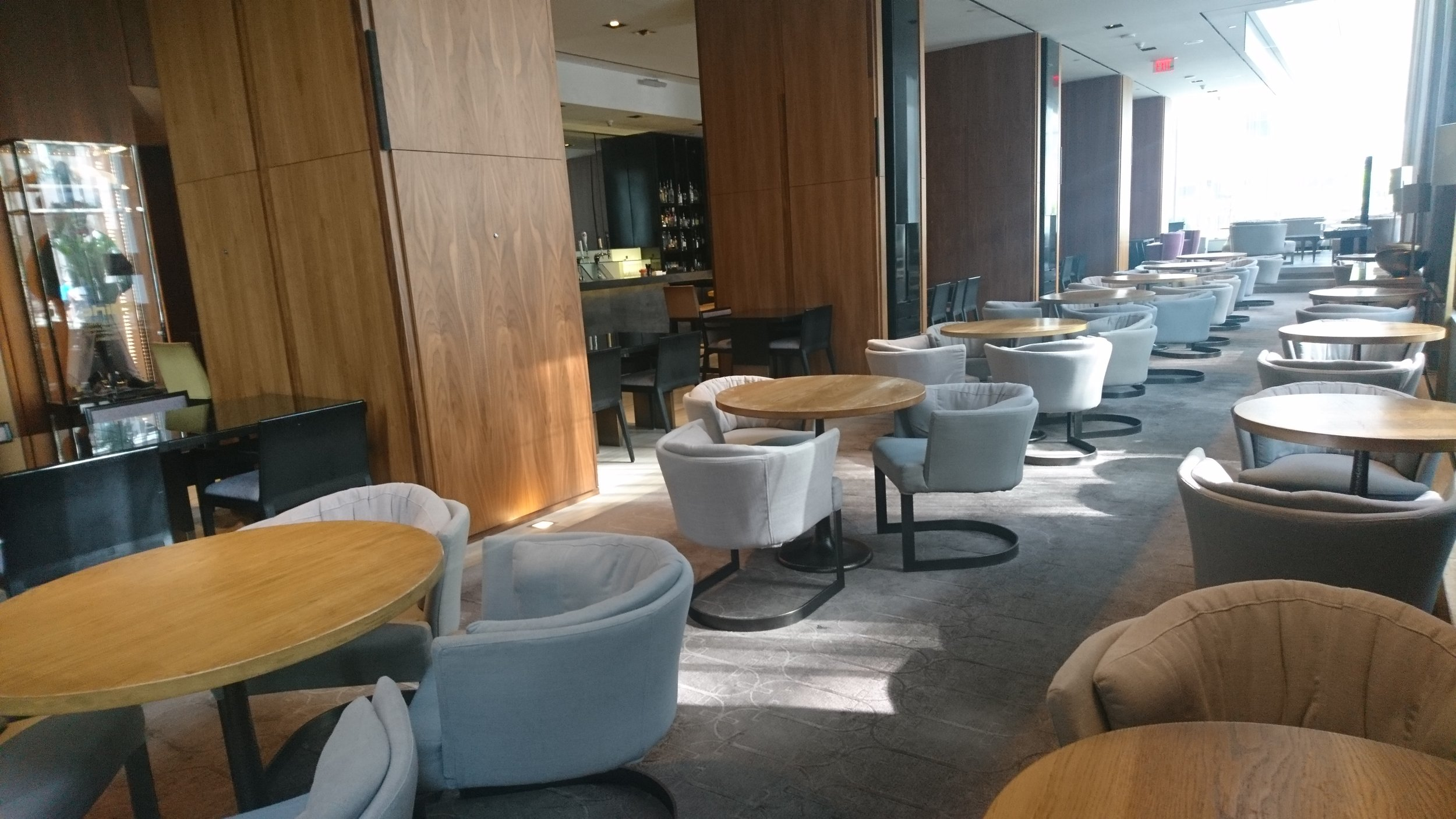 Picture of accessible interior of restaurant