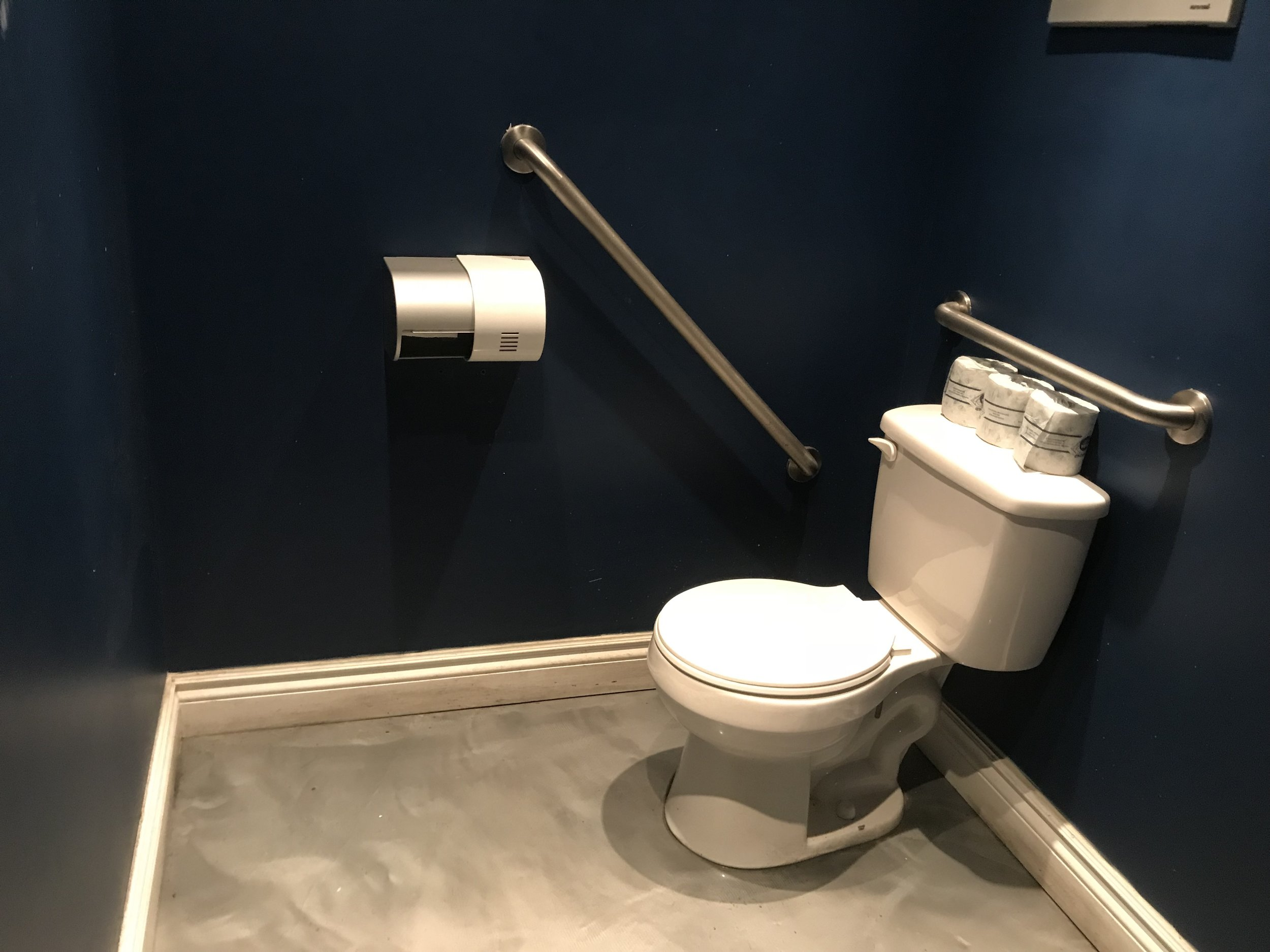 Picture of accessible washroom in Lot 30 Brewers