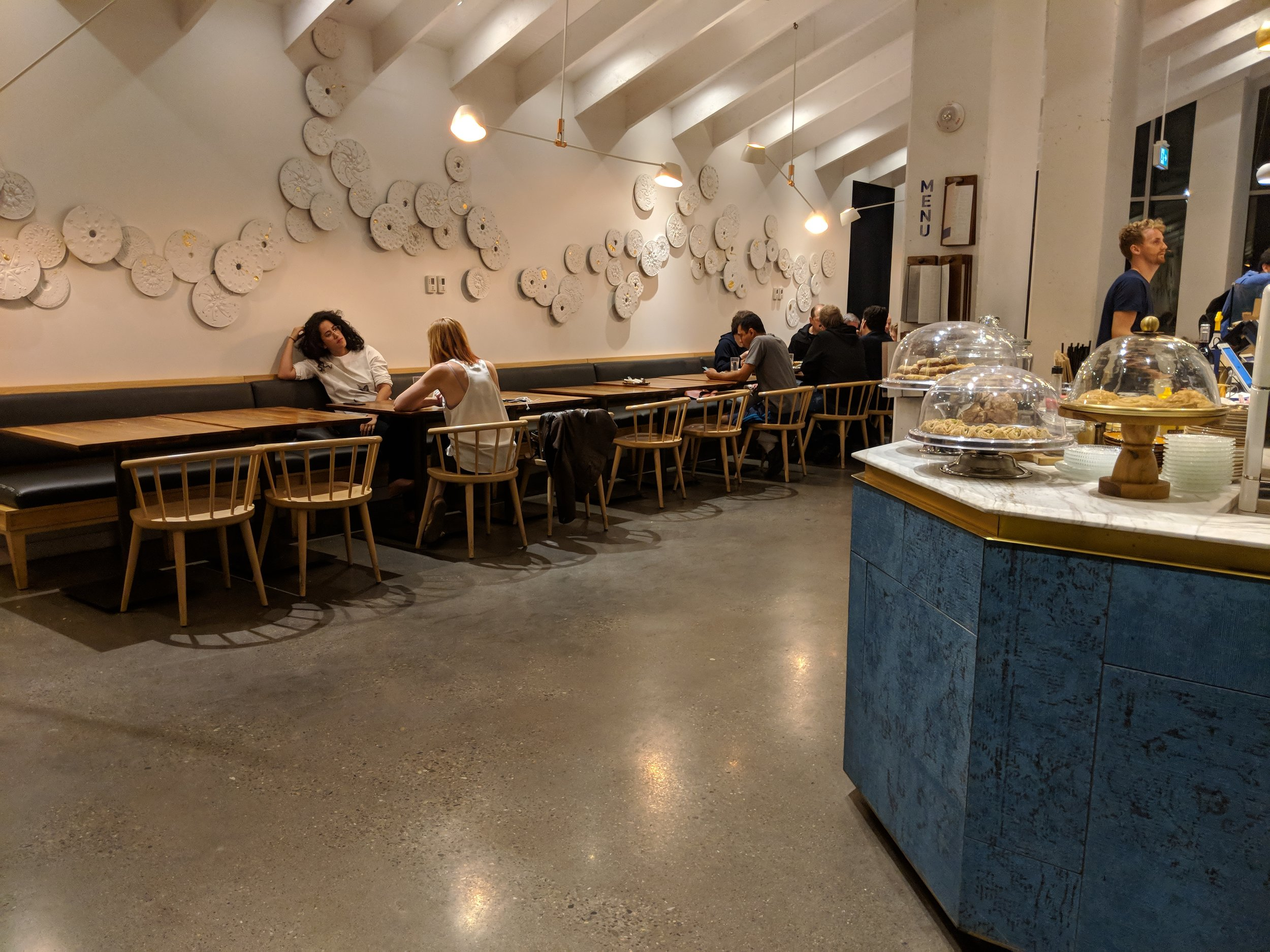 Picture of spacious accessible interior of Souk Tabule