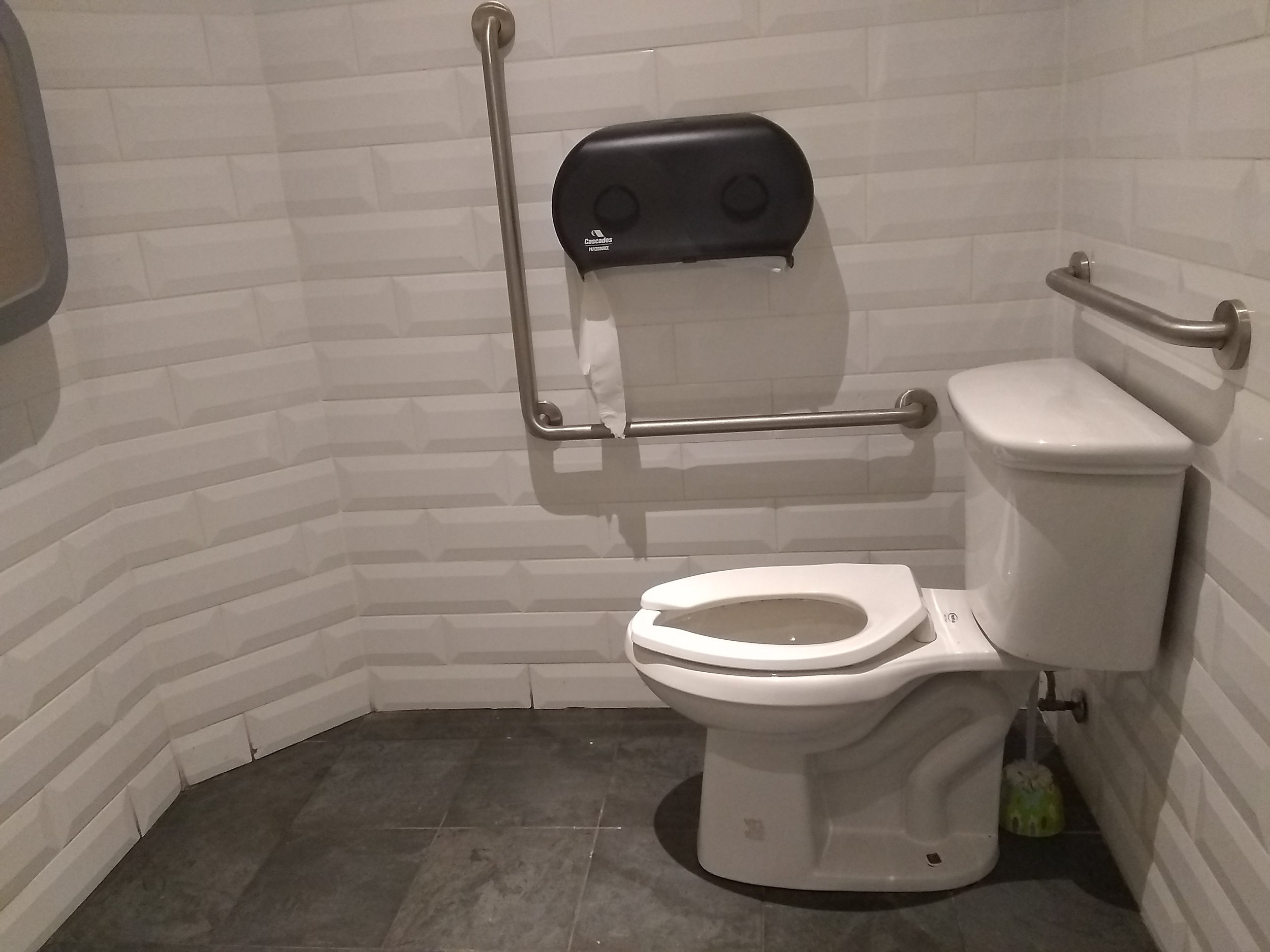 Picture of accessible washroom at Watts