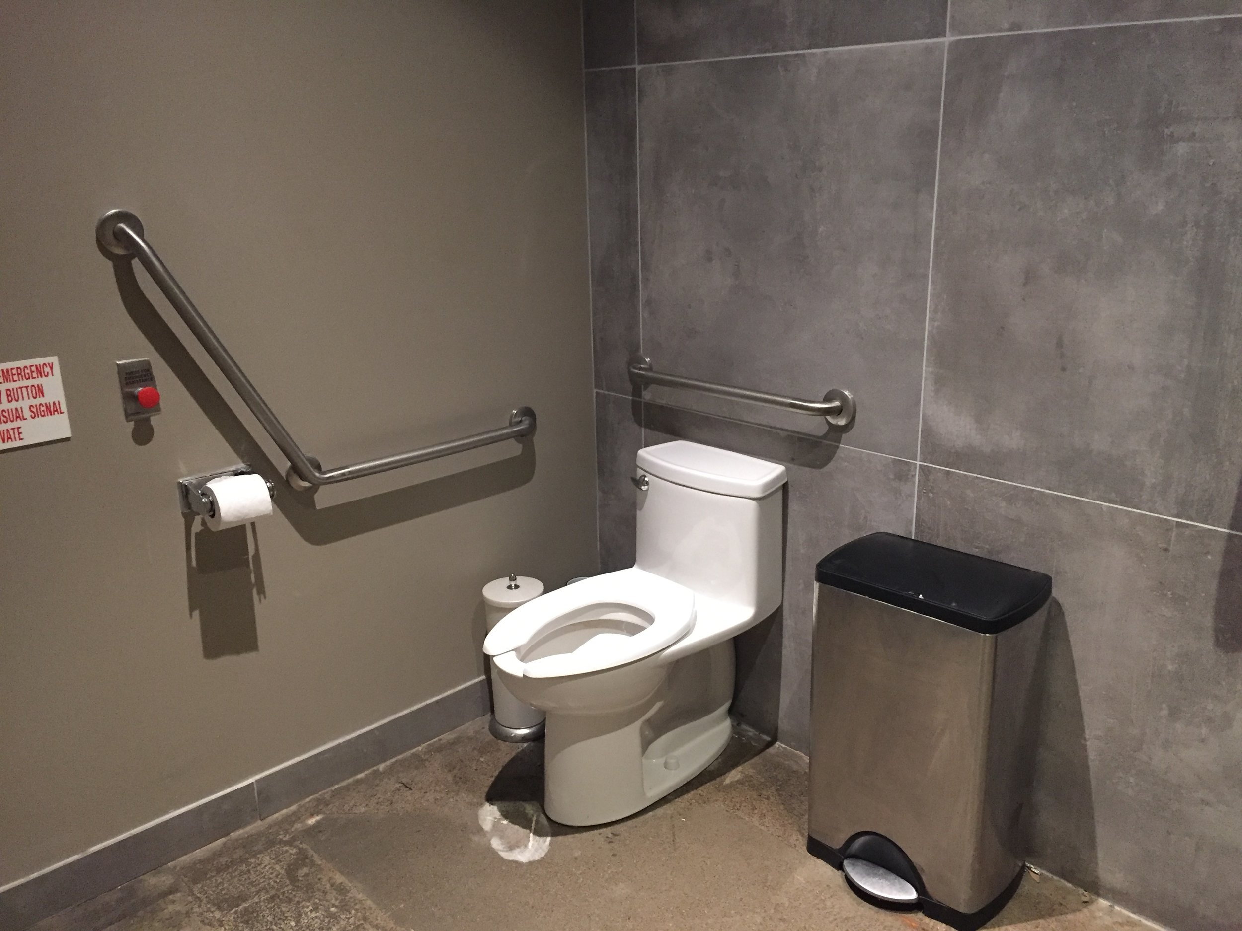 Picture of accessible washroom at tosto