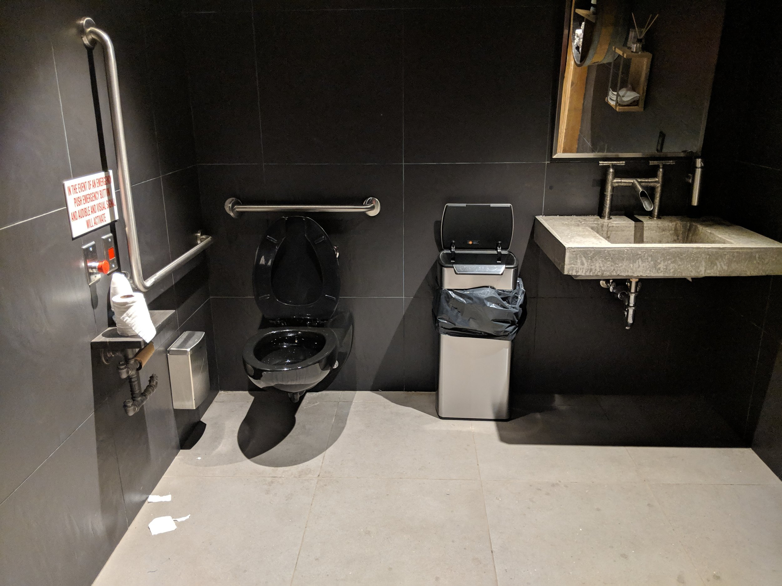 Picture of accessible washroom at the Spirit of York