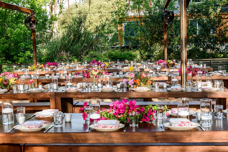 elegant outdoor tablescape