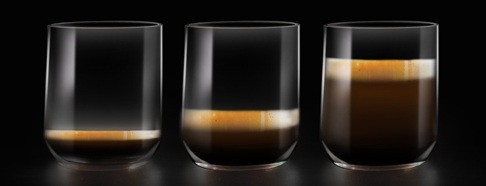 Pour a single shot up to a lungo size, or in between