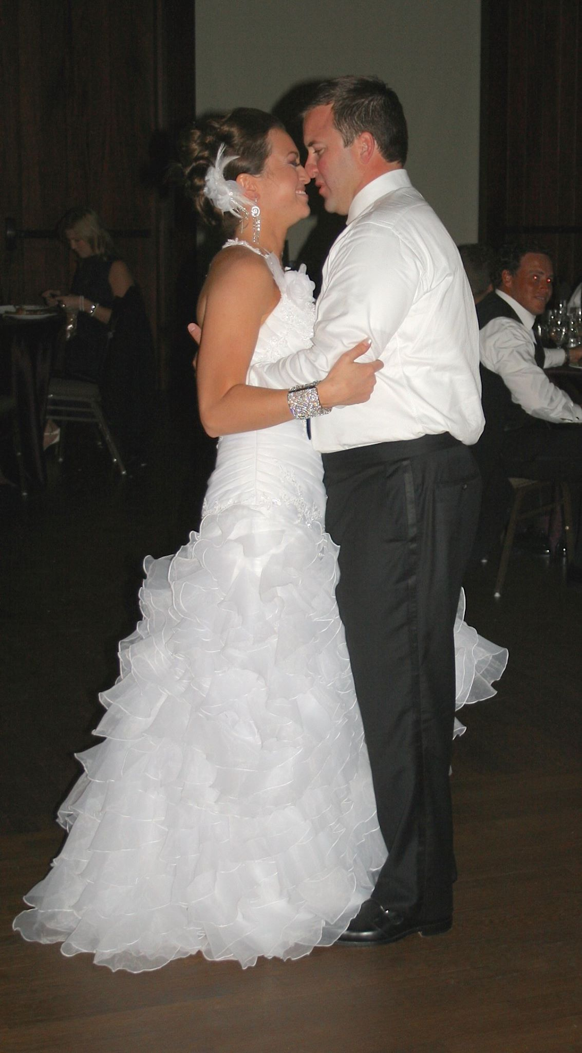 """These Arms of Mine"" by Otis Redding was Erin & Rich's first dance."