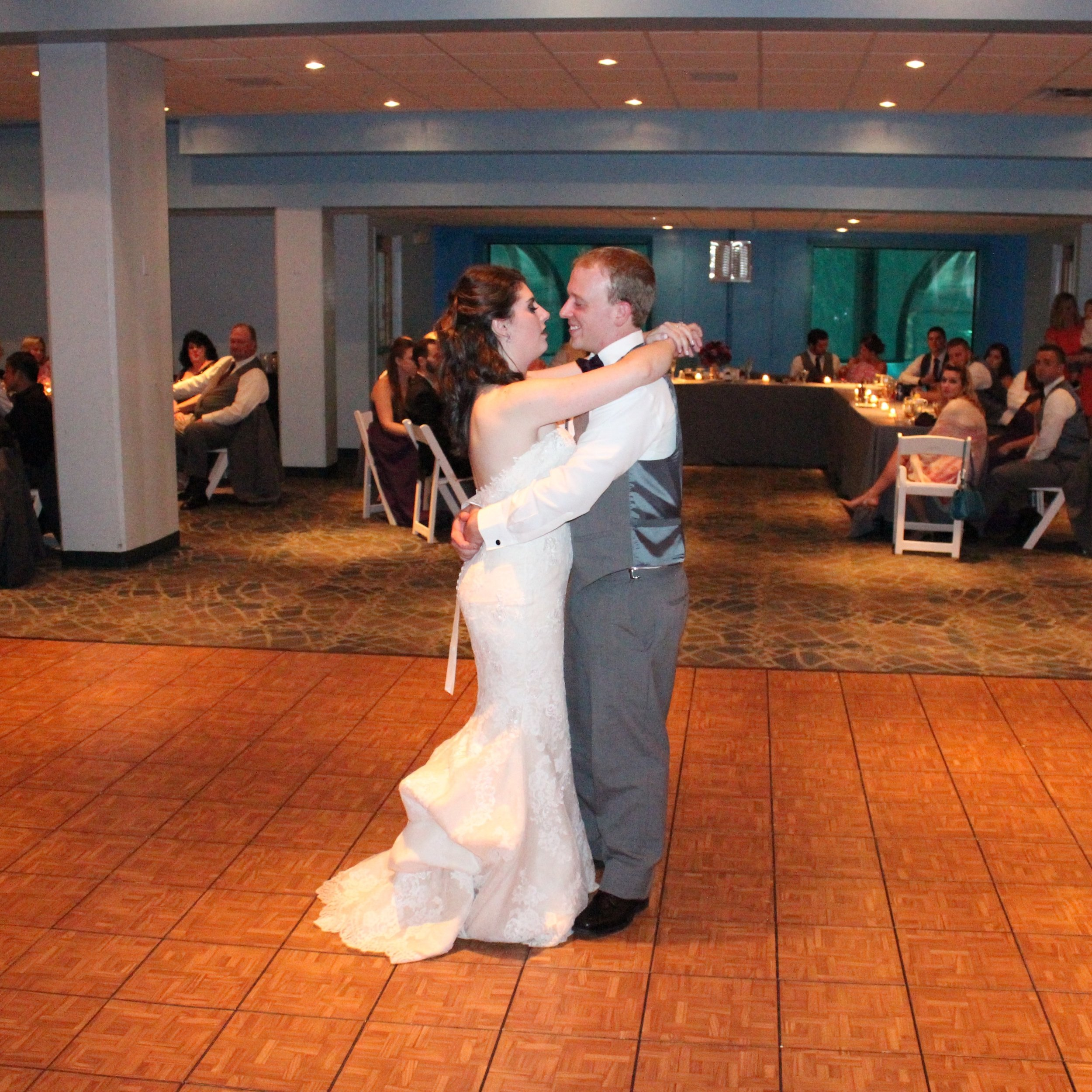 """""""I'll make the most of the minutes and love with no regrets."""" Jenae & Chad's 1st dance"""
