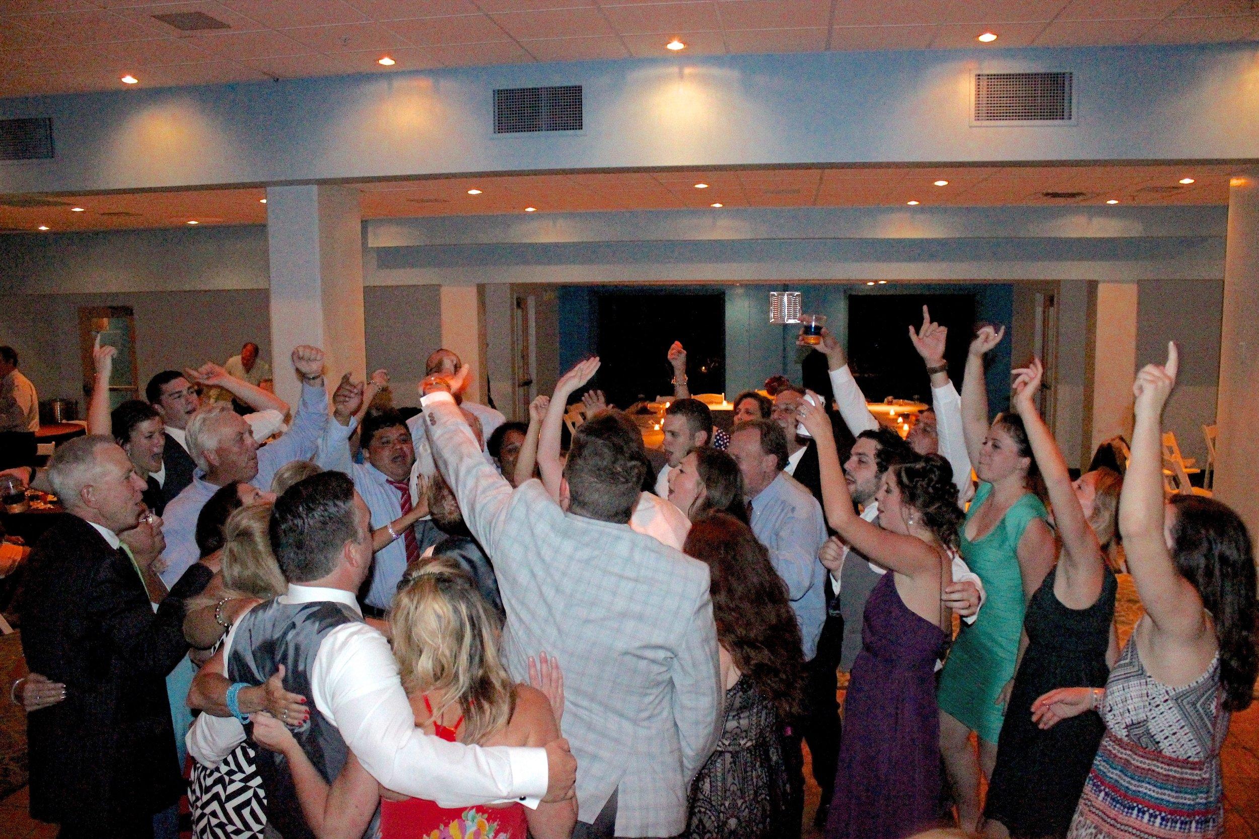 And the dance floor is OPEN!