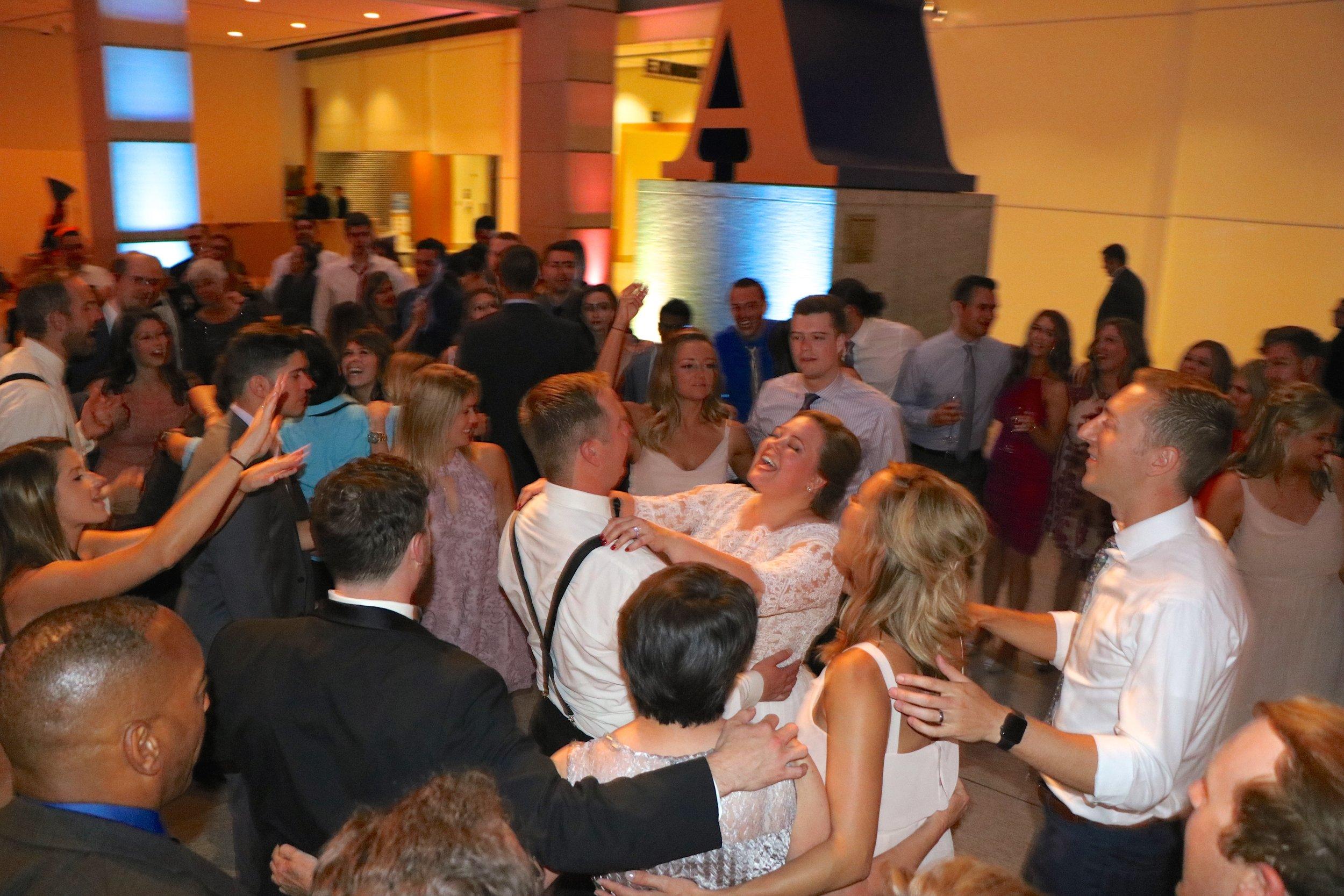 Kelsey & David Finale Sing by Indianapolis Wedding DJ Jim Cerone
