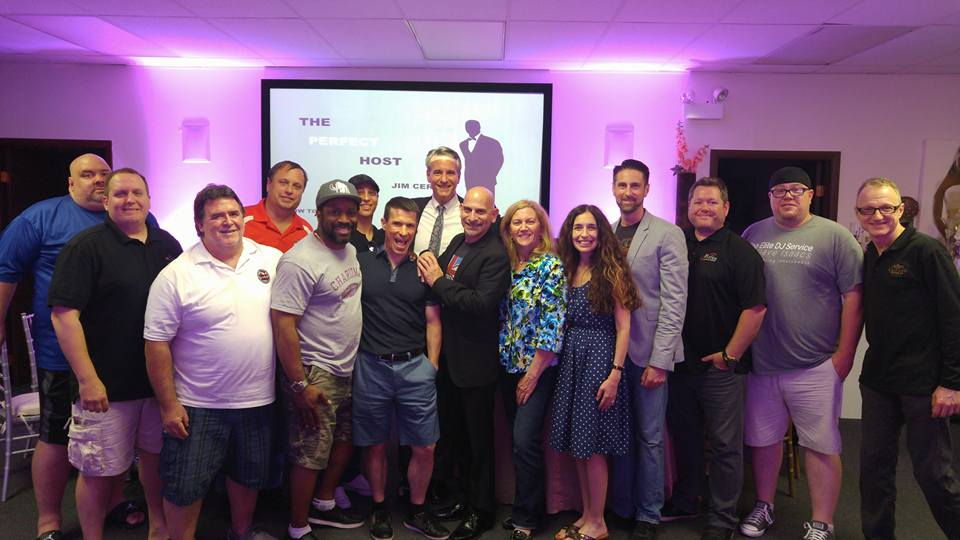 My Perfect Host seminar for the Chicago chapter of the American Disc Jockey Association.
