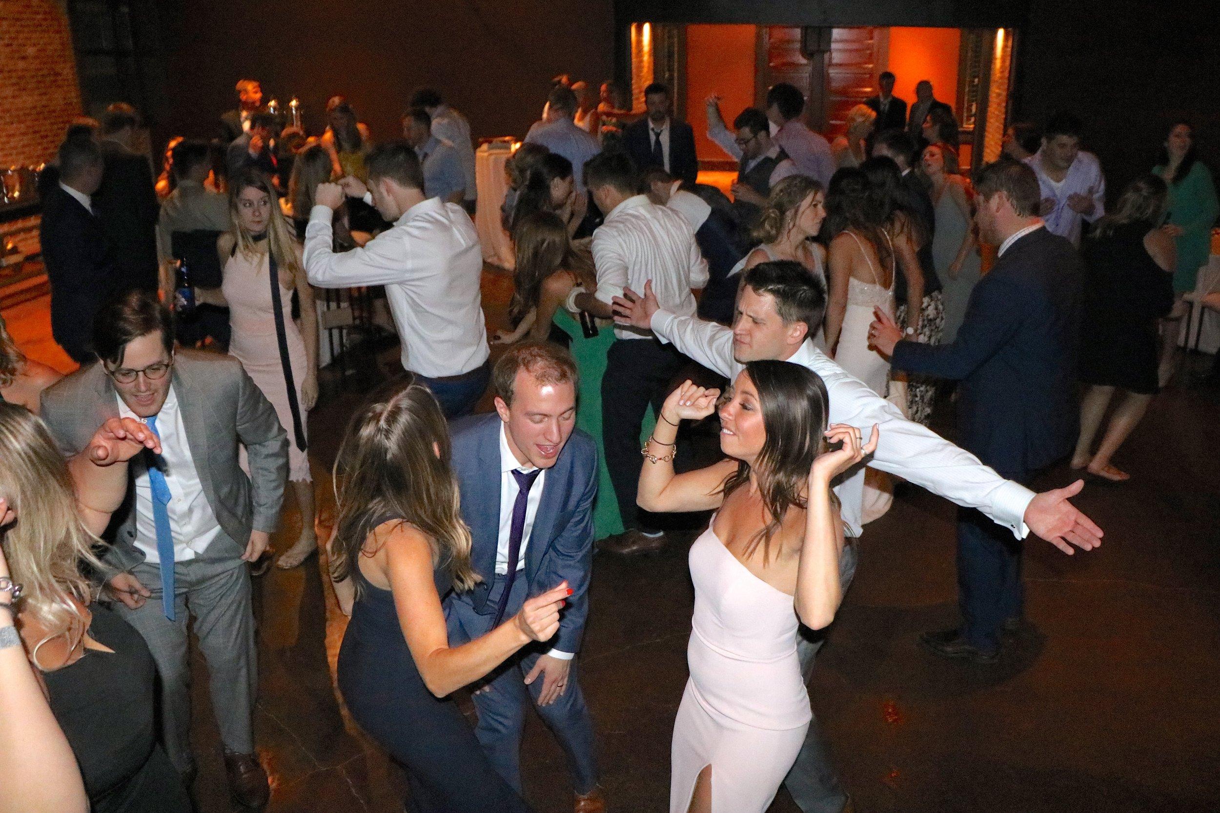 Jenny & Chad Dance Party by DJ Jim Cerone
