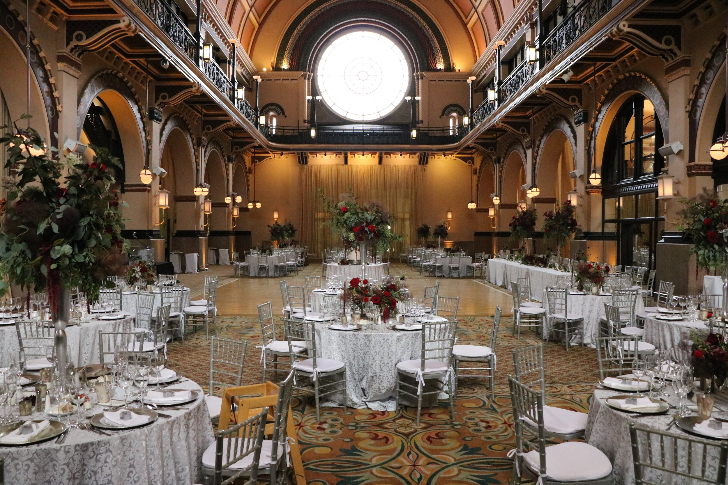 Union Station's Grand Hall just before it was revealed to guests
