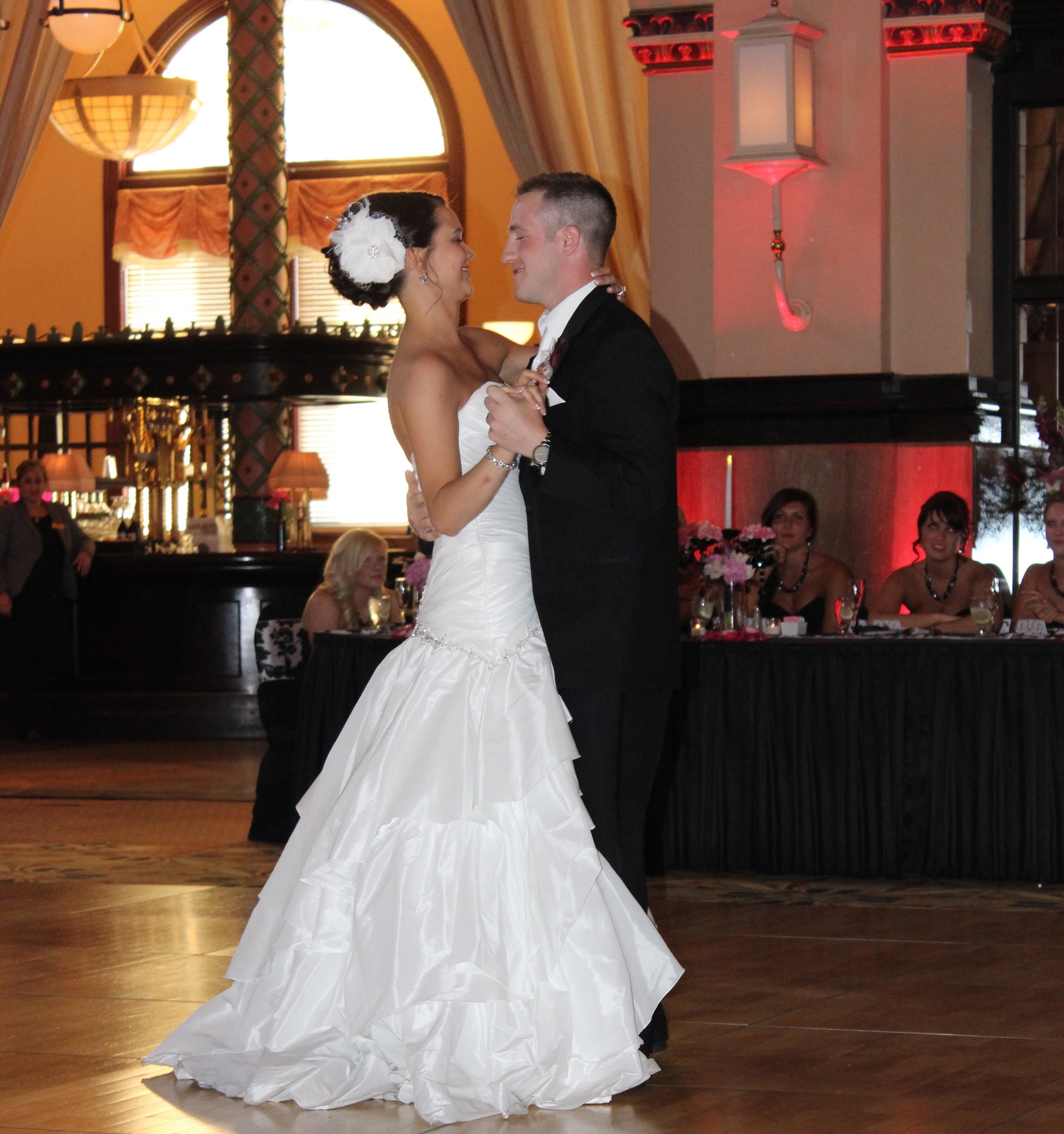 """Jordan & Jason found their 1st dance on YouTube - """"Your Song"""" by Zelda Love"""