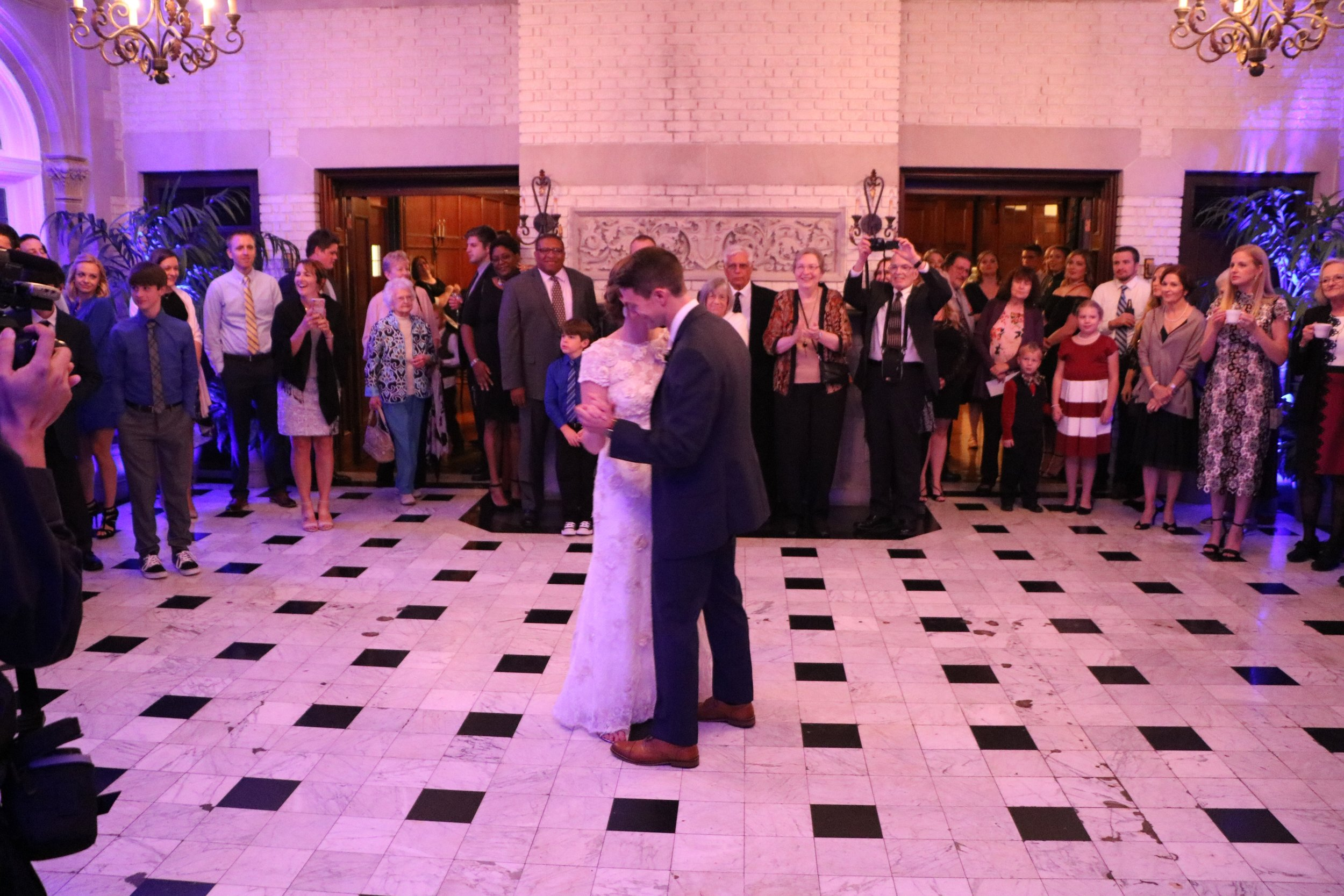 """Jessica & Greg's 1st dance """"What Would I Do Without You"""" by Drew Holcomb & the Neighbors"""