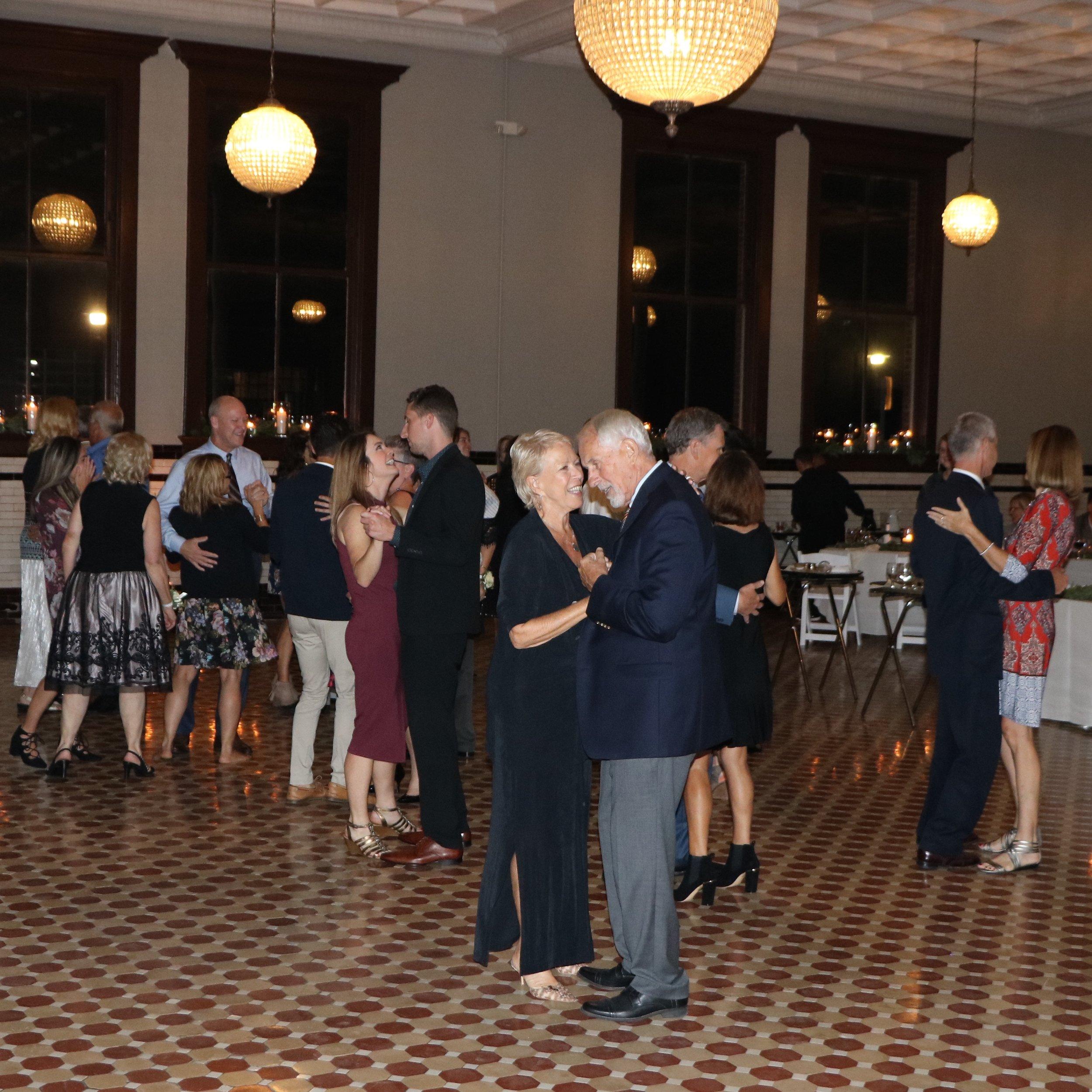 Katy & Alex open dancing by Jim Cerone