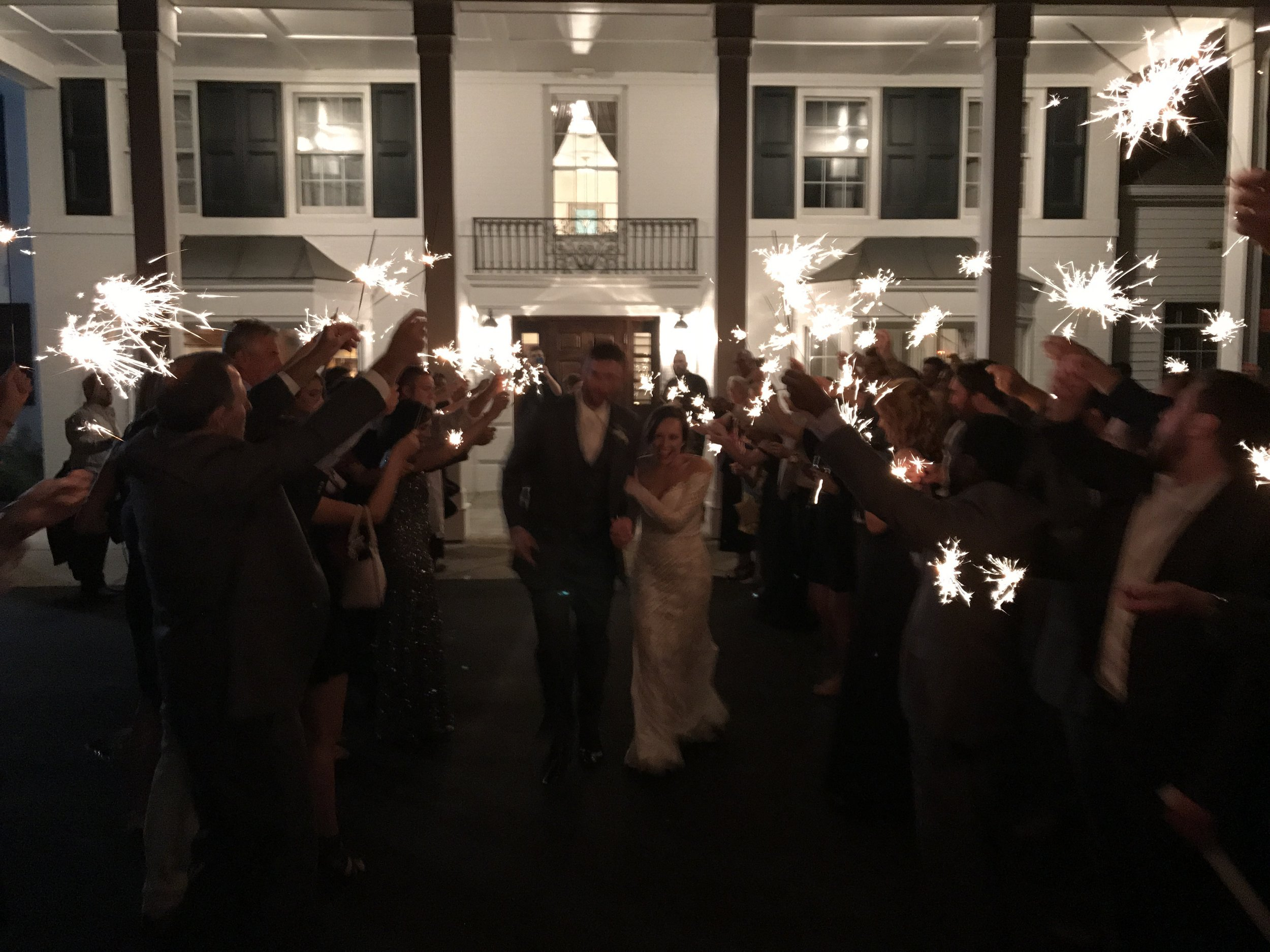 From beginning to end, Erin & Mark's day sparkled with love, energy and FUN!