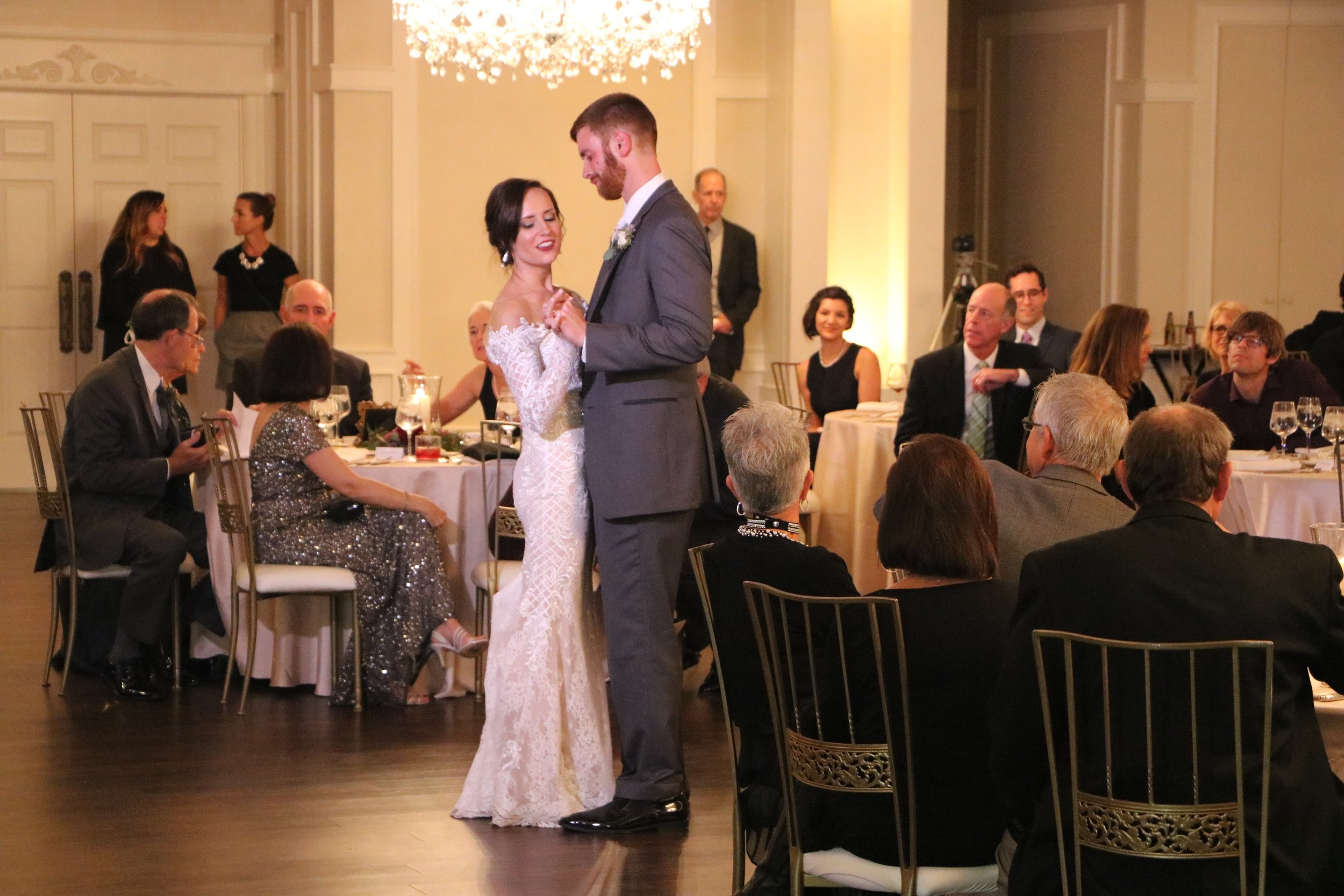 """Erin & Mark's 1st dance """"I Only Have Eyes For You"""""""