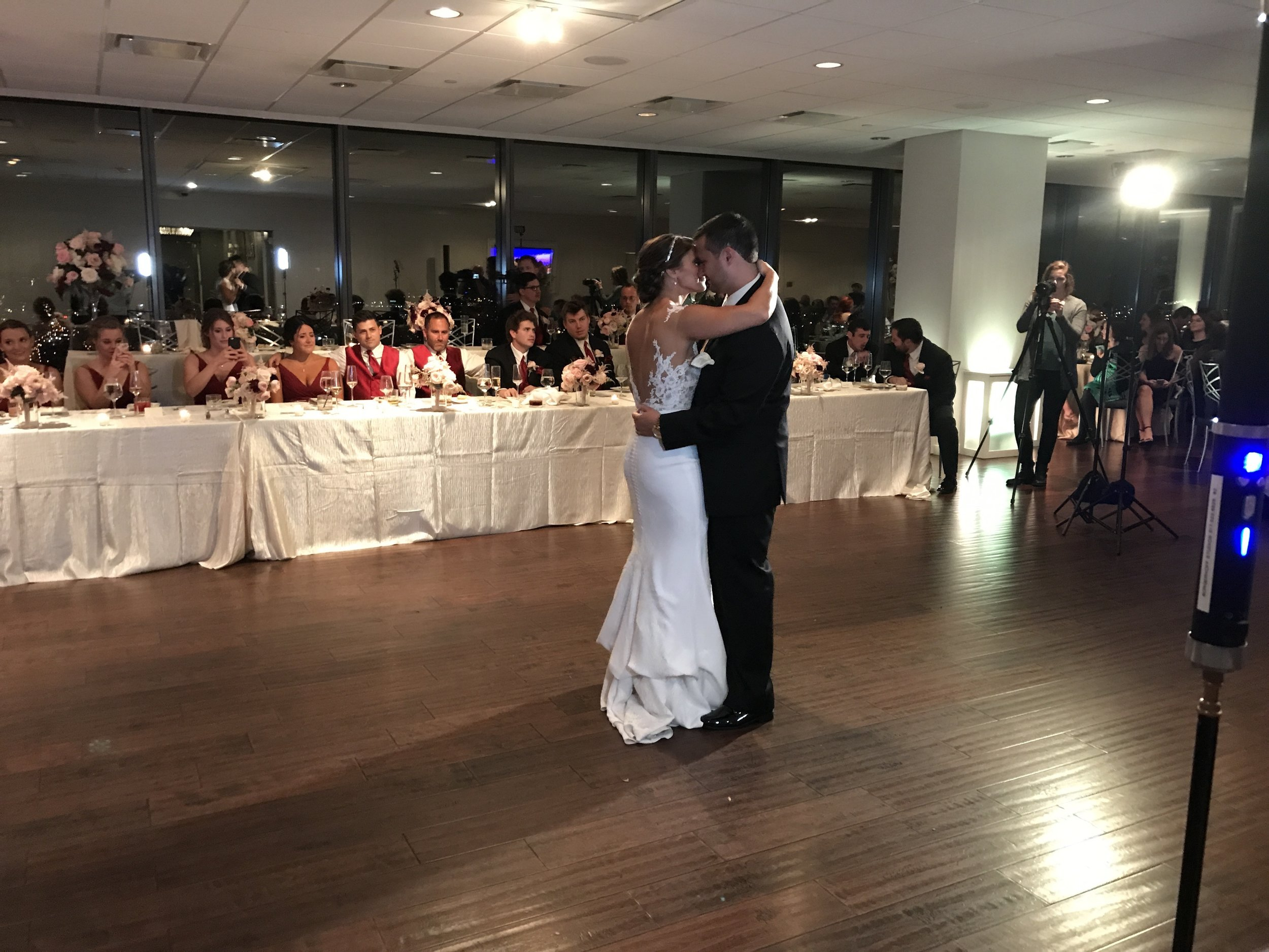 """Katie & Craig's 1st dance """"From the Ground Up"""" (48 floors up to be exact LOL)"""
