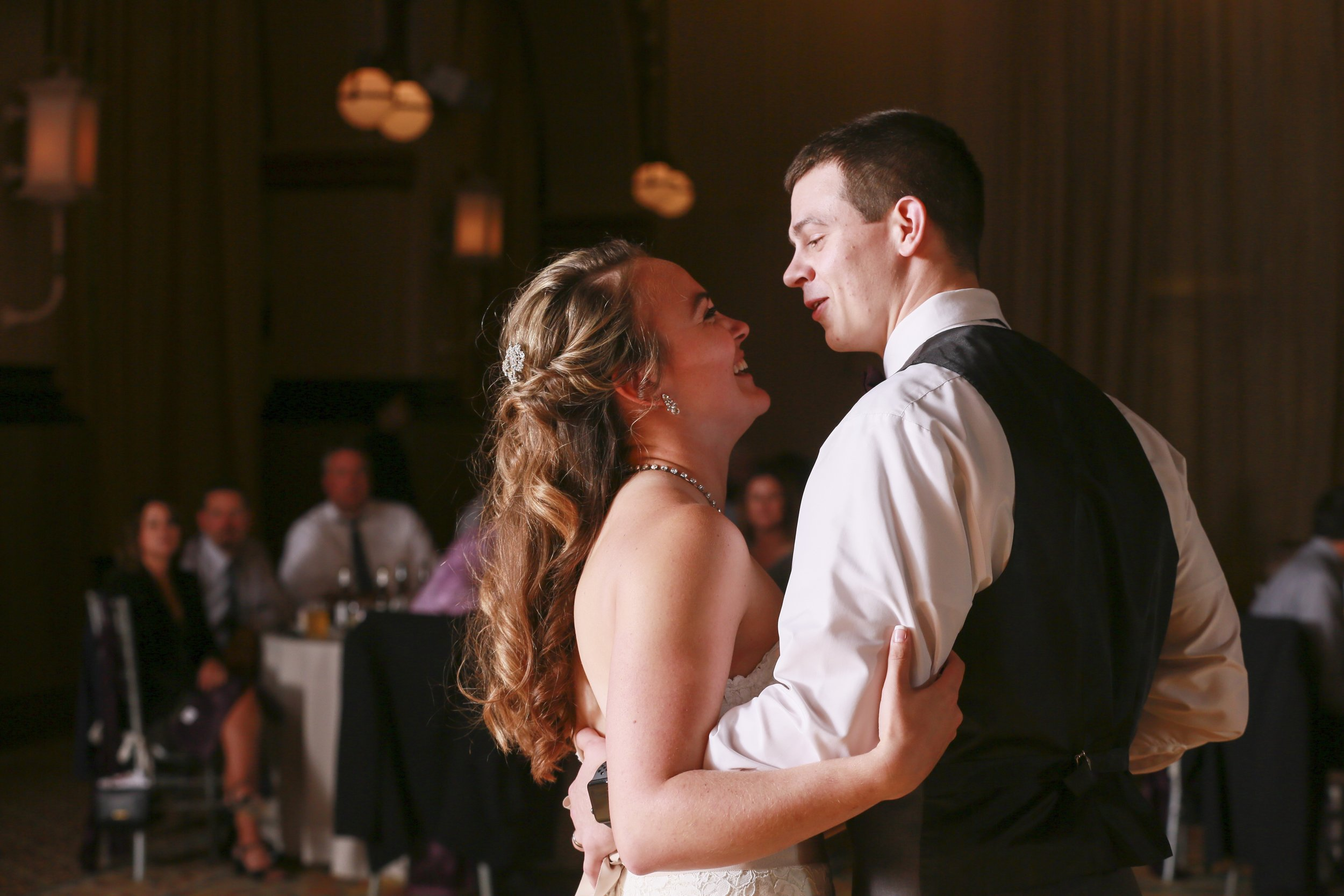 """Kelsi & Chris dance to """"Then"""" by Brad Paisley Photo courtesy  Jennifer Driscoll Photography"""