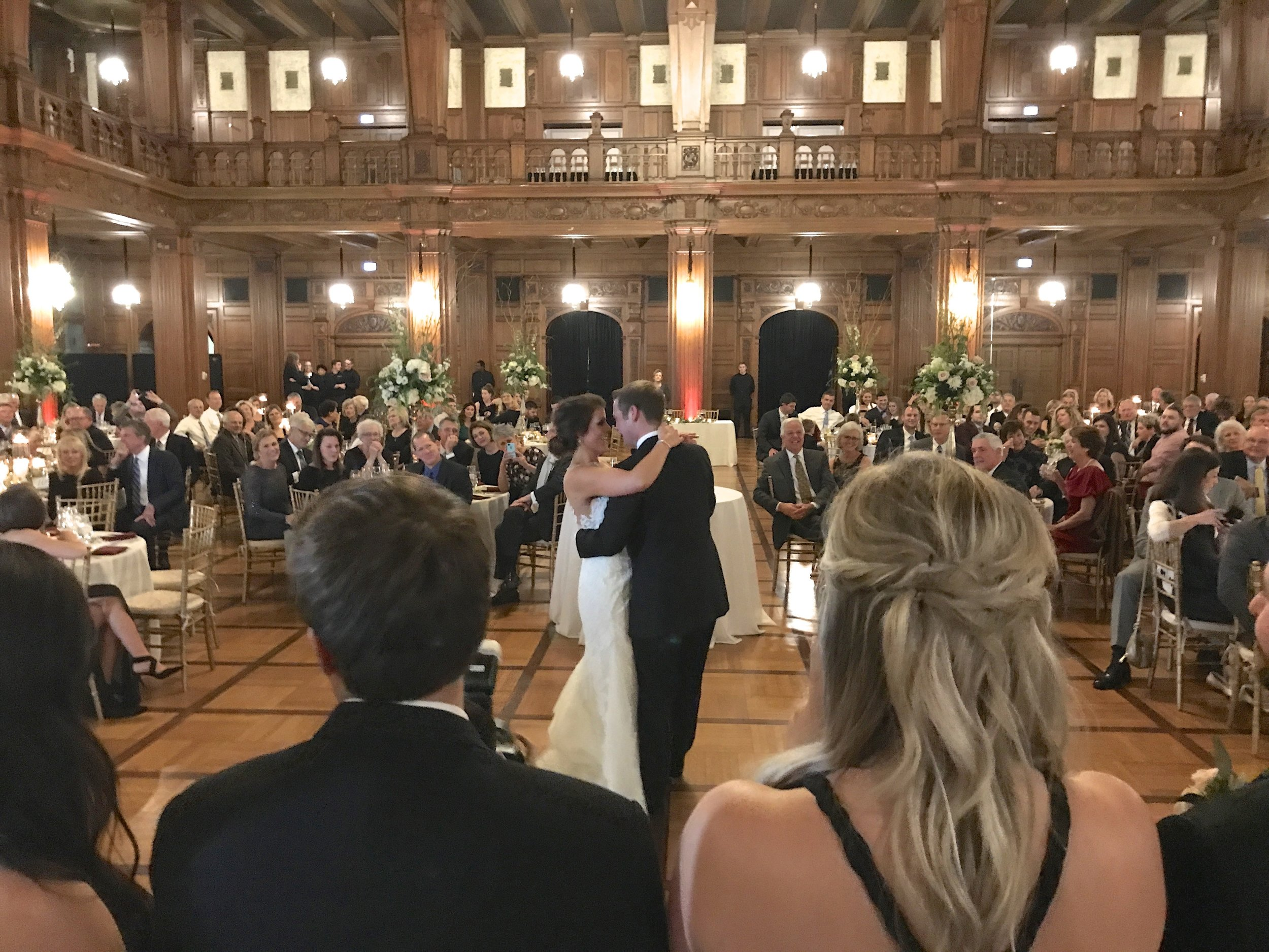 "Brooke & Nick's first dance ""Tennessee Whiskey"" Chris Stapleton"