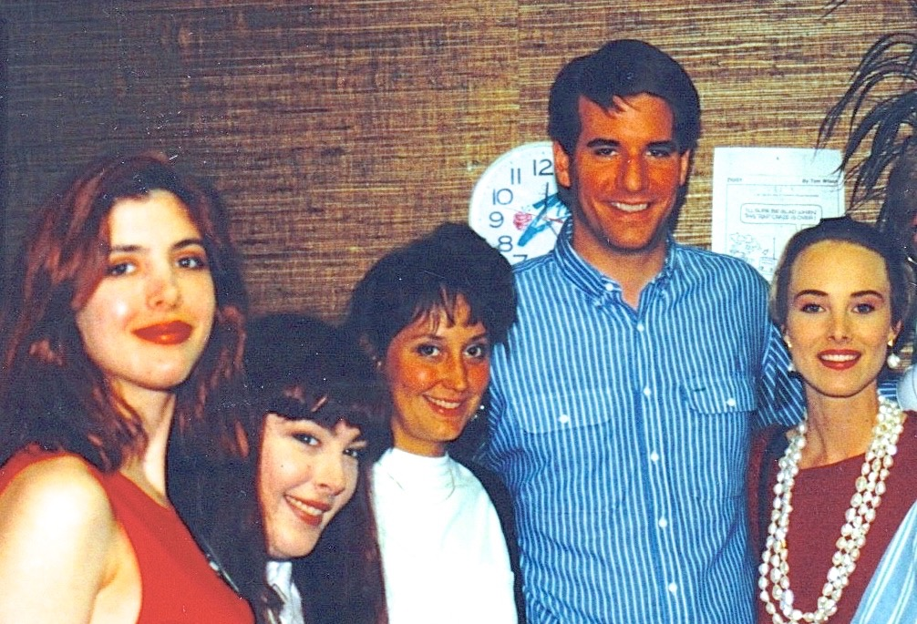 "Jim and his wife with Wilson Phillips ""Hold On for one more day..."""