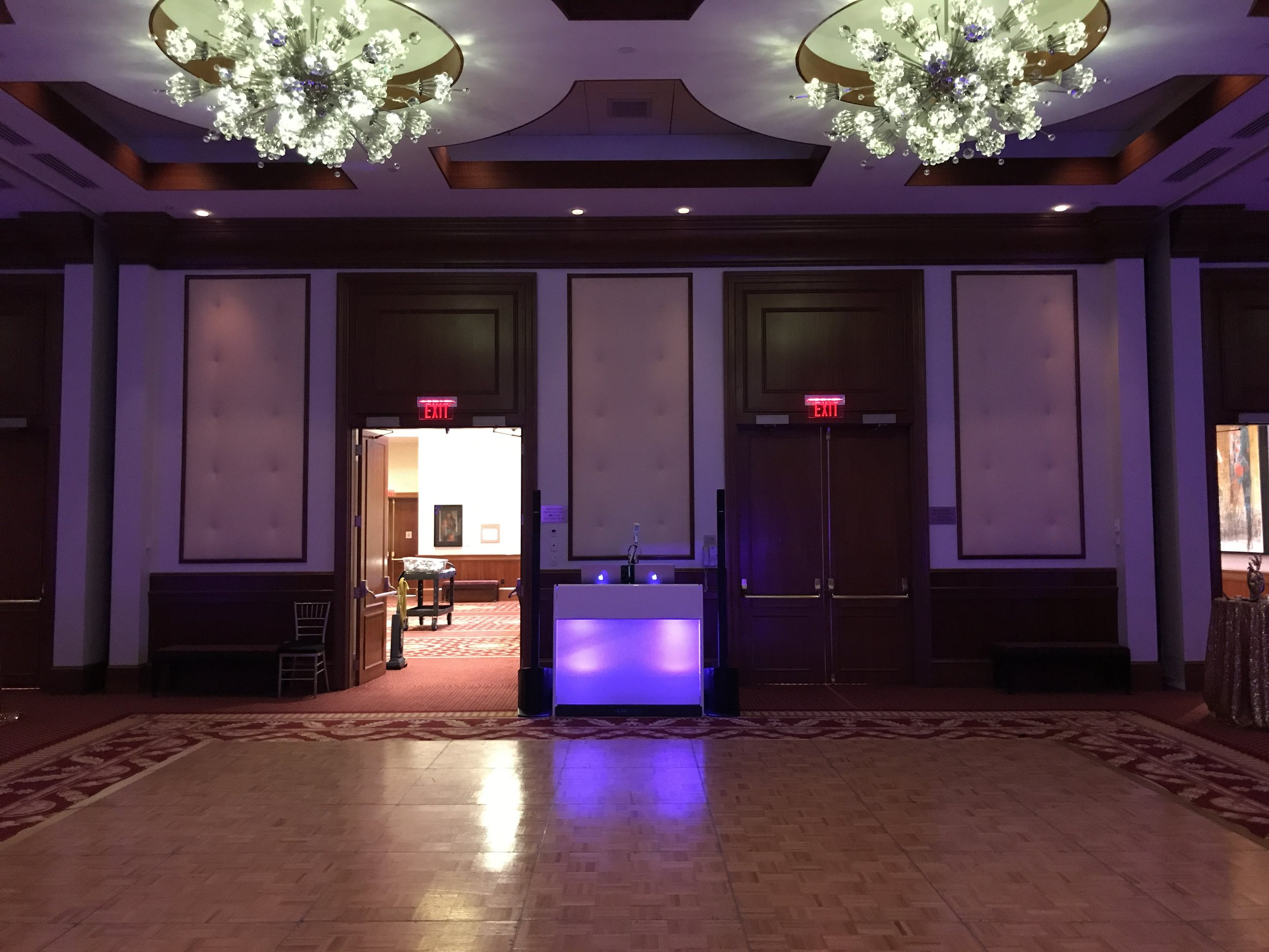 New for 2018 - DJ Booth tailored to your wedding palette