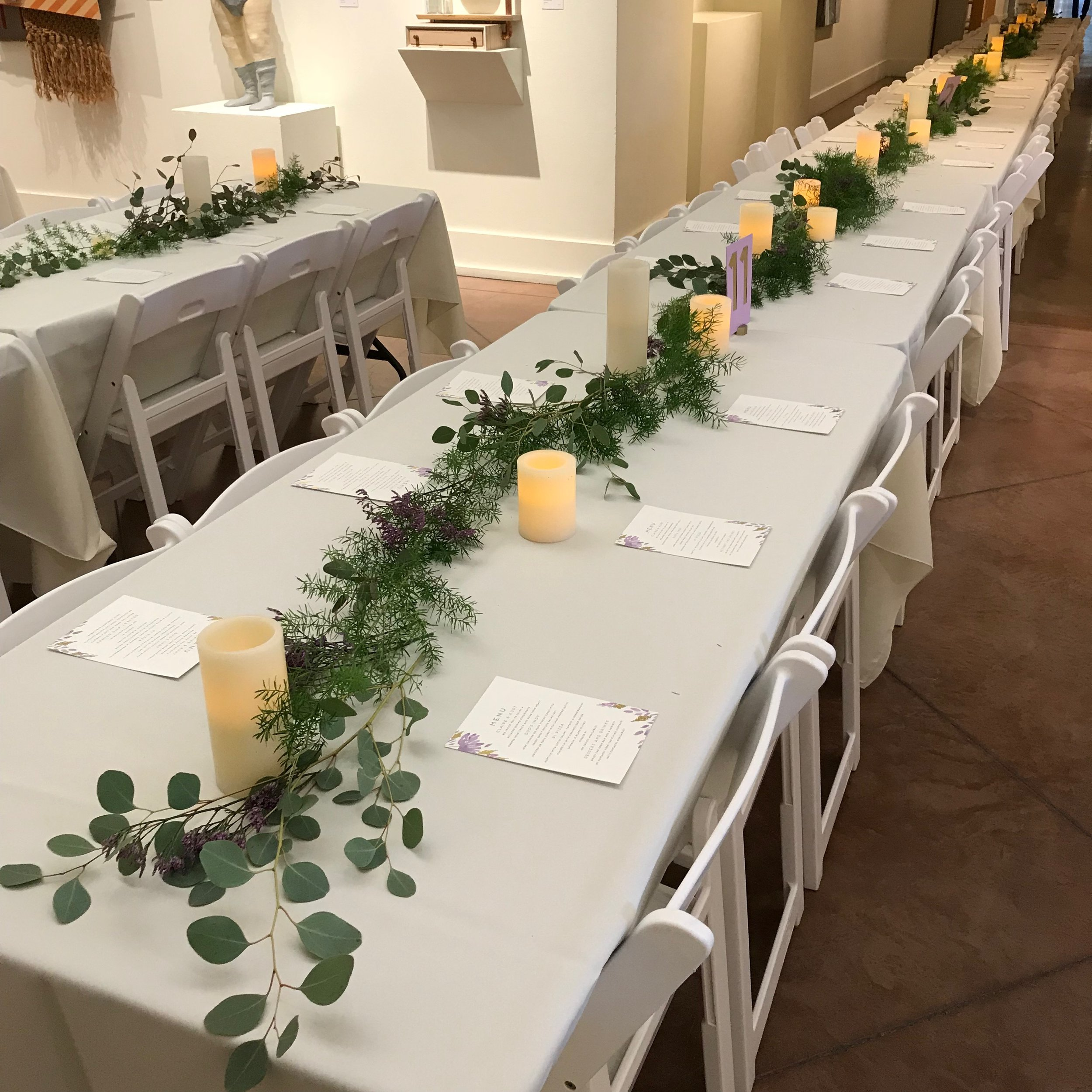 Tablescape by DJ Jim Cerone